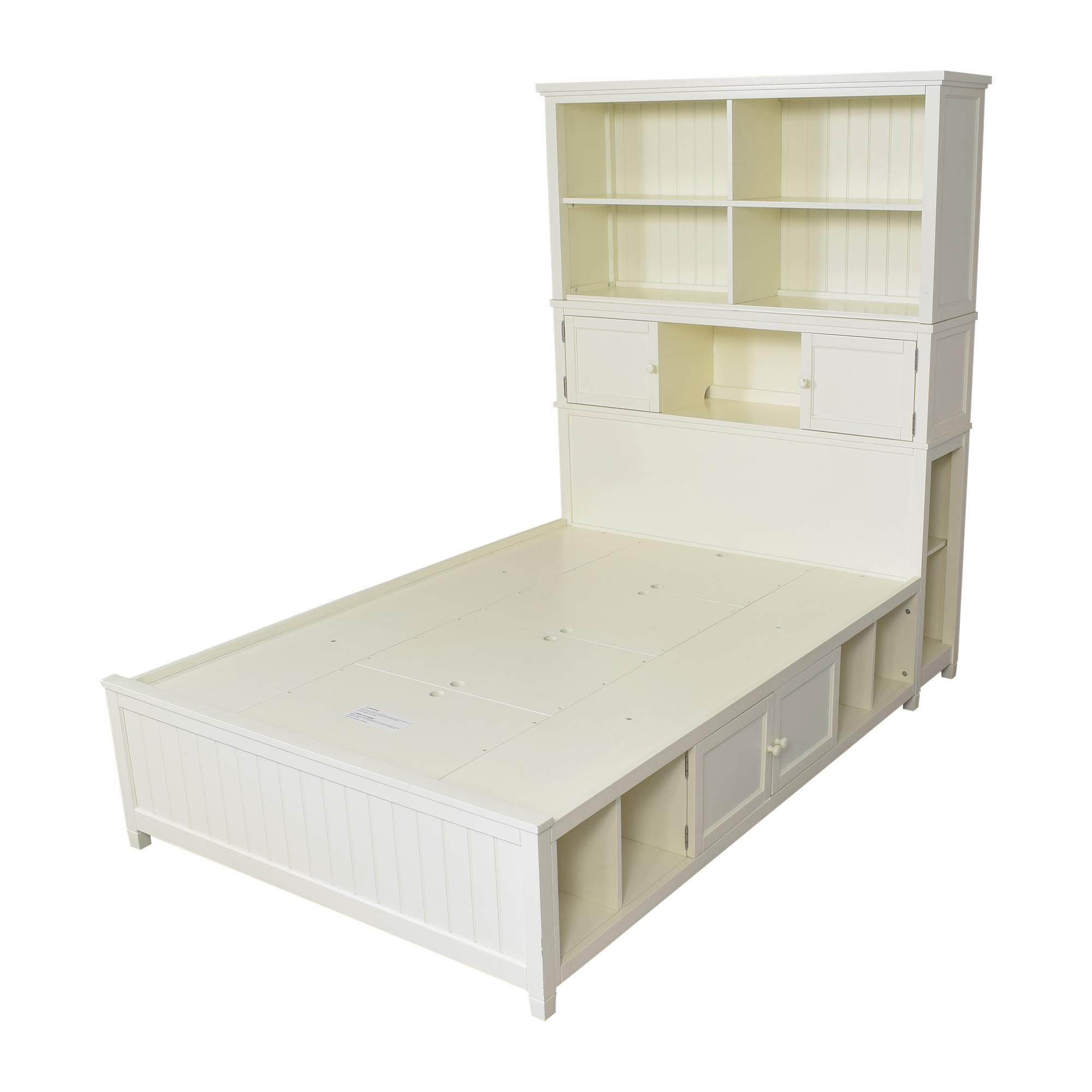 Pottery Barn Teen Pottery Barn Teen Beadboard Storage Full Bed Beds