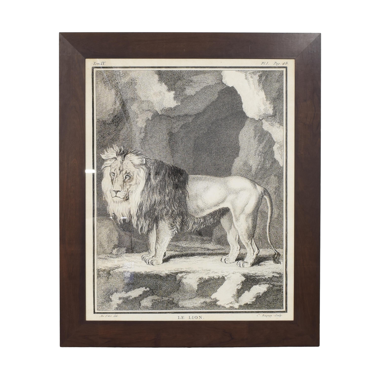 shop Lillian August Lillian August Le Lion Framed Wall Art online