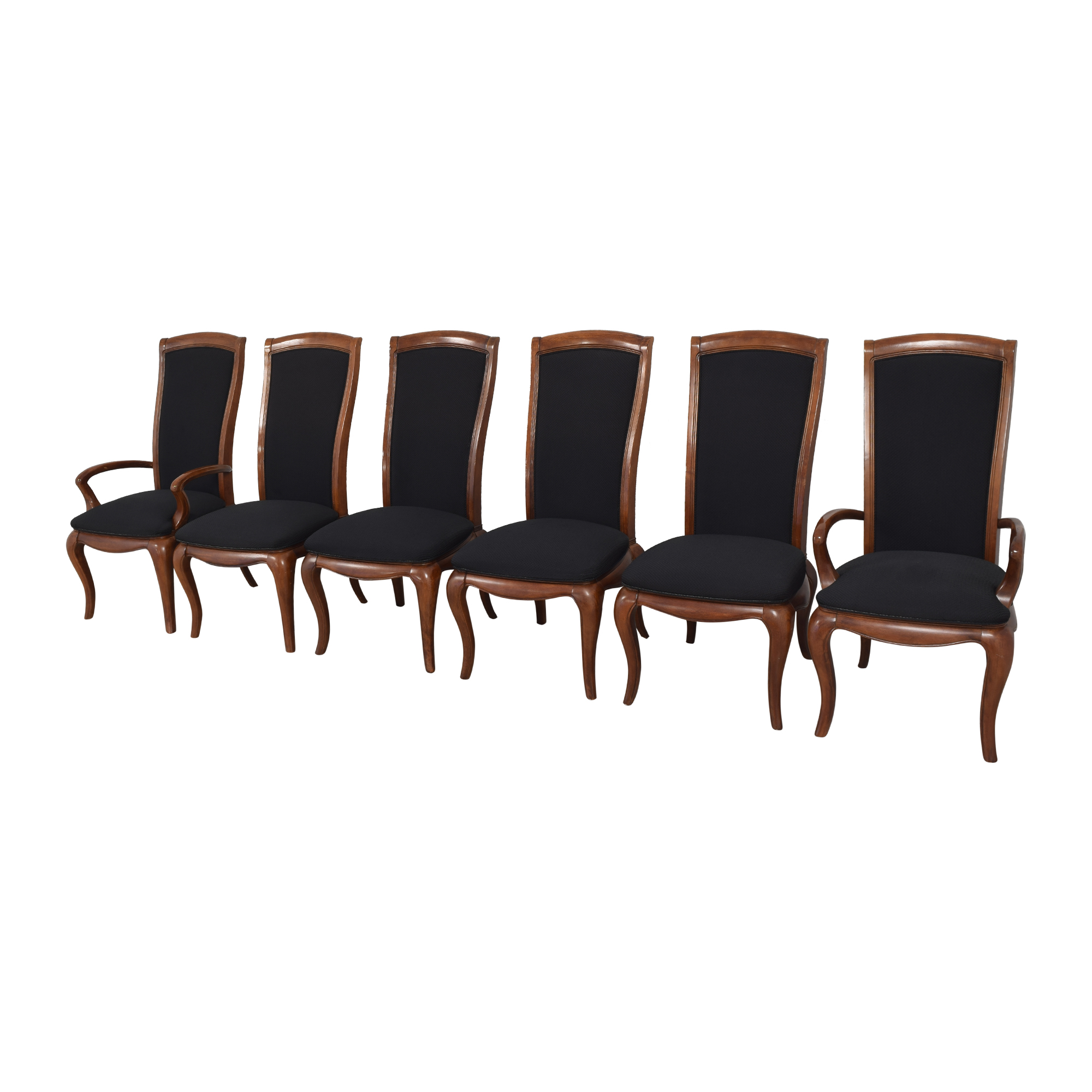 American Drew American Drew High Back Dining Chairs Dining Chairs