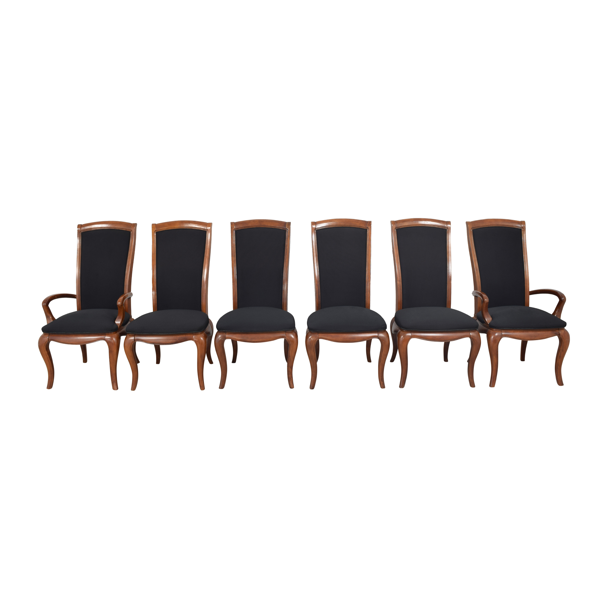 American Drew American Drew High Back Dining Chairs used