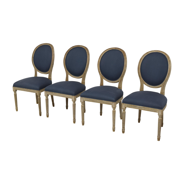 buy Restoration Hardware Vintage French Round Dining Chairs Restoration Hardware Chairs