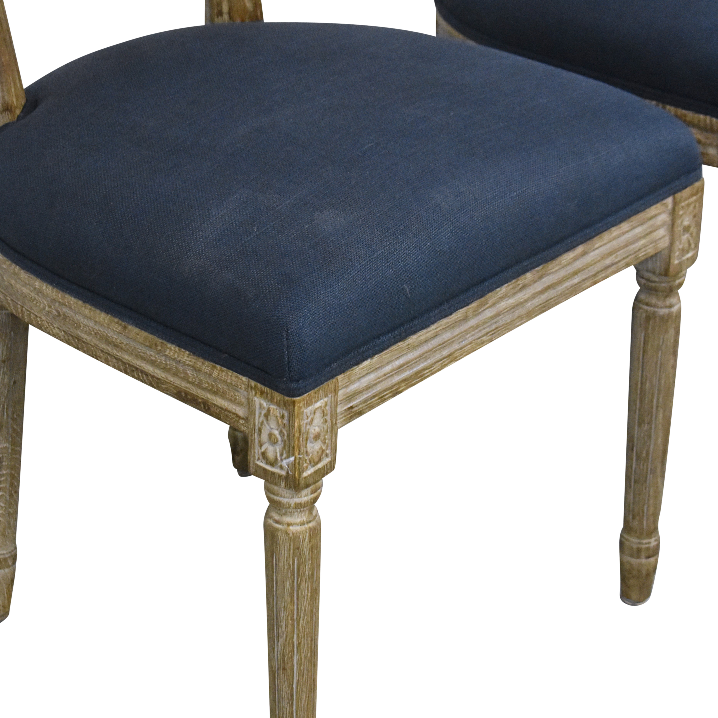 Restoration Hardware Restoration Hardware Vintage French Round Dining Chairs Dining Chairs