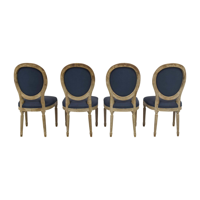 buy Restoration Hardware Vintage French Round Dining Chairs Restoration Hardware Dining Chairs