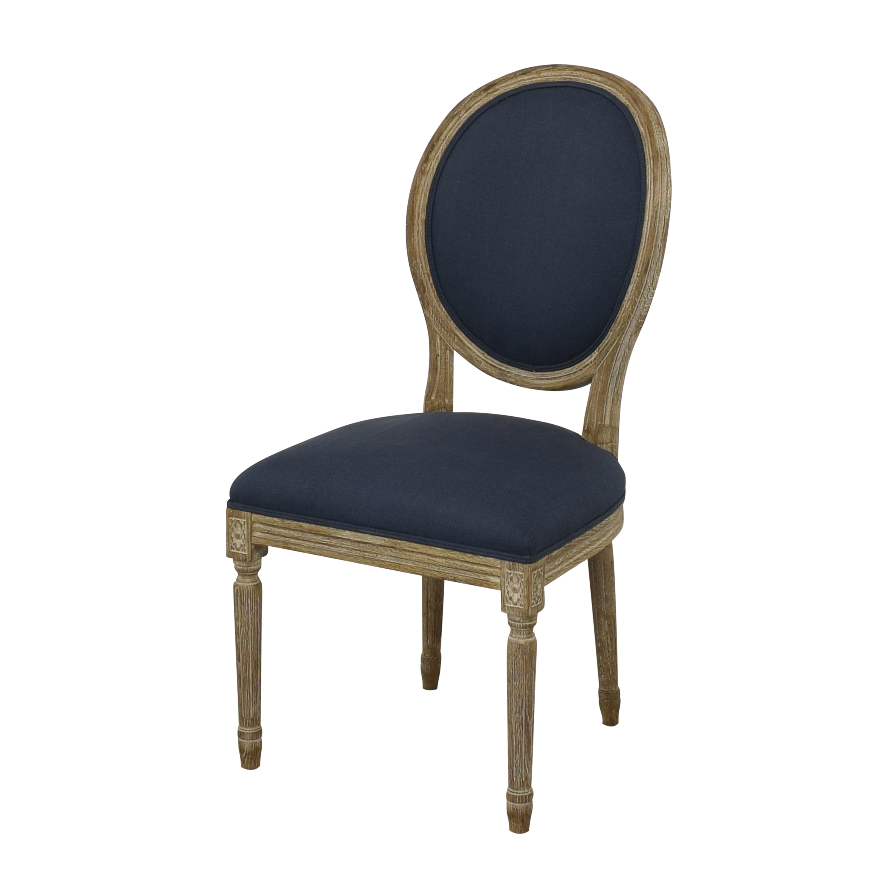 Restoration Hardware Vintage French Round Dining Chairs / Dining Chairs