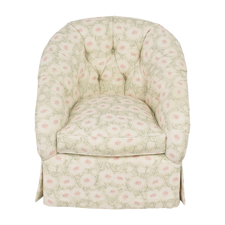 buy Edward Ferrell Tufted Accent Chair Edward Ferrell