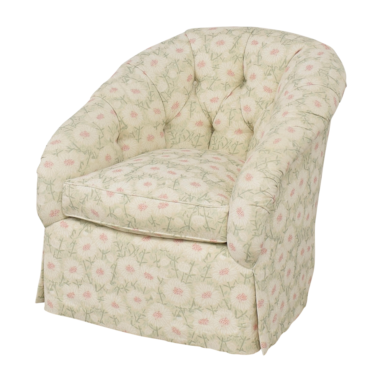 Edward Ferrell Edward Ferrell Tufted Accent Chair on sale