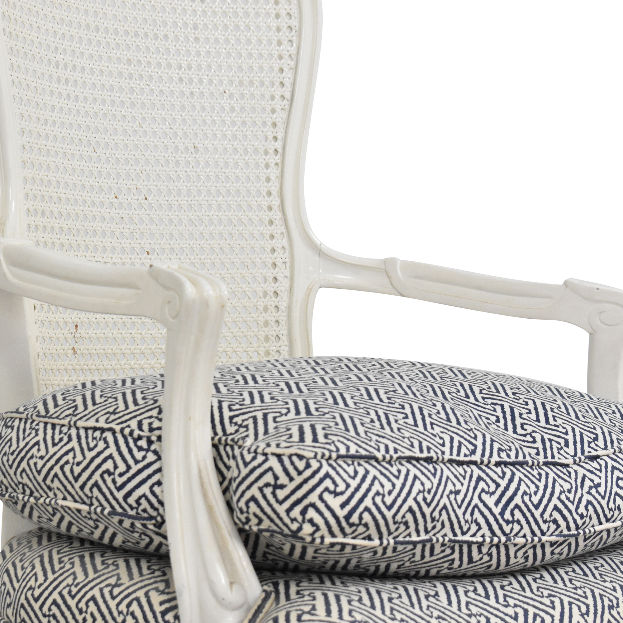 Cane Back Accent Chair / Chairs
