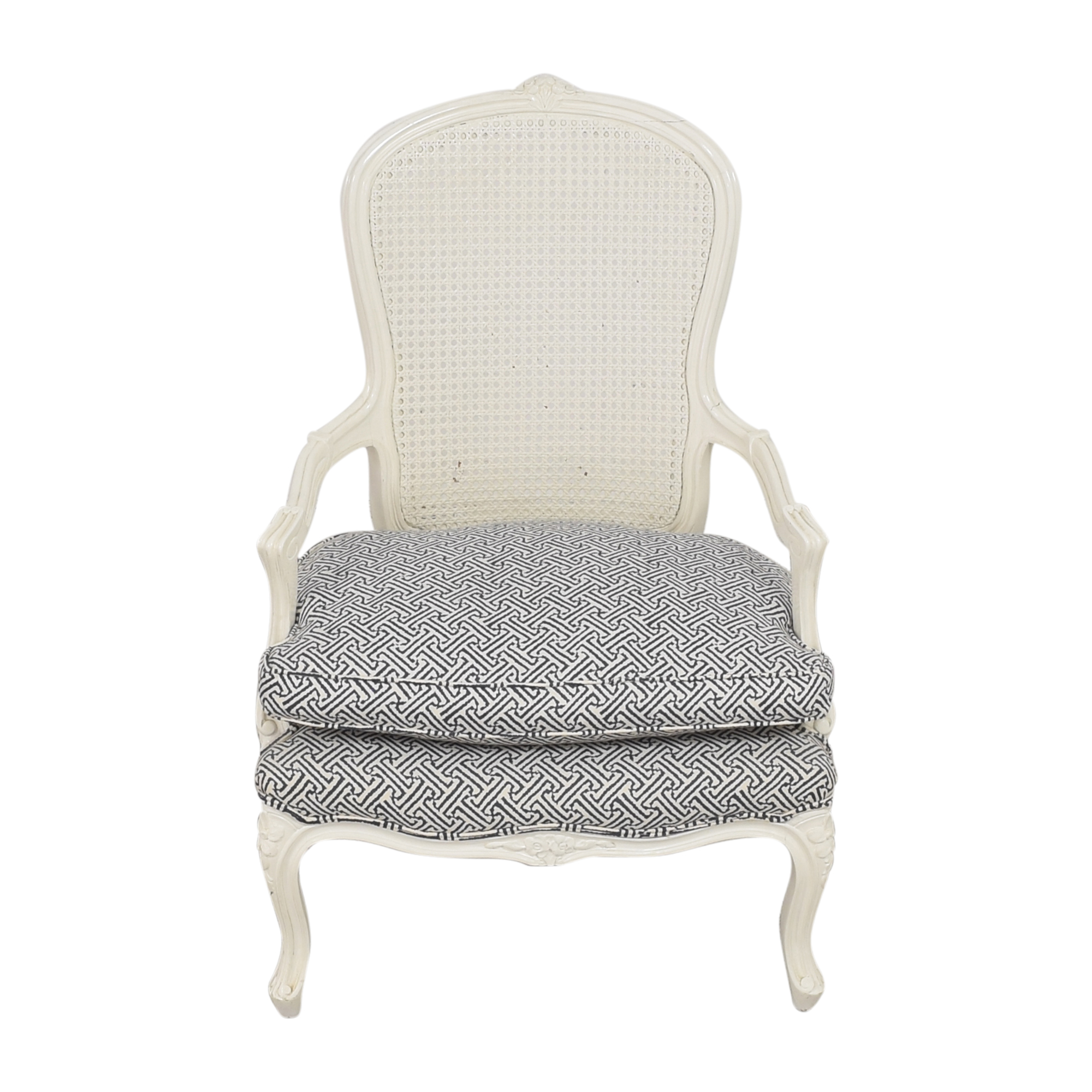 Cane Back Accent Chair ct
