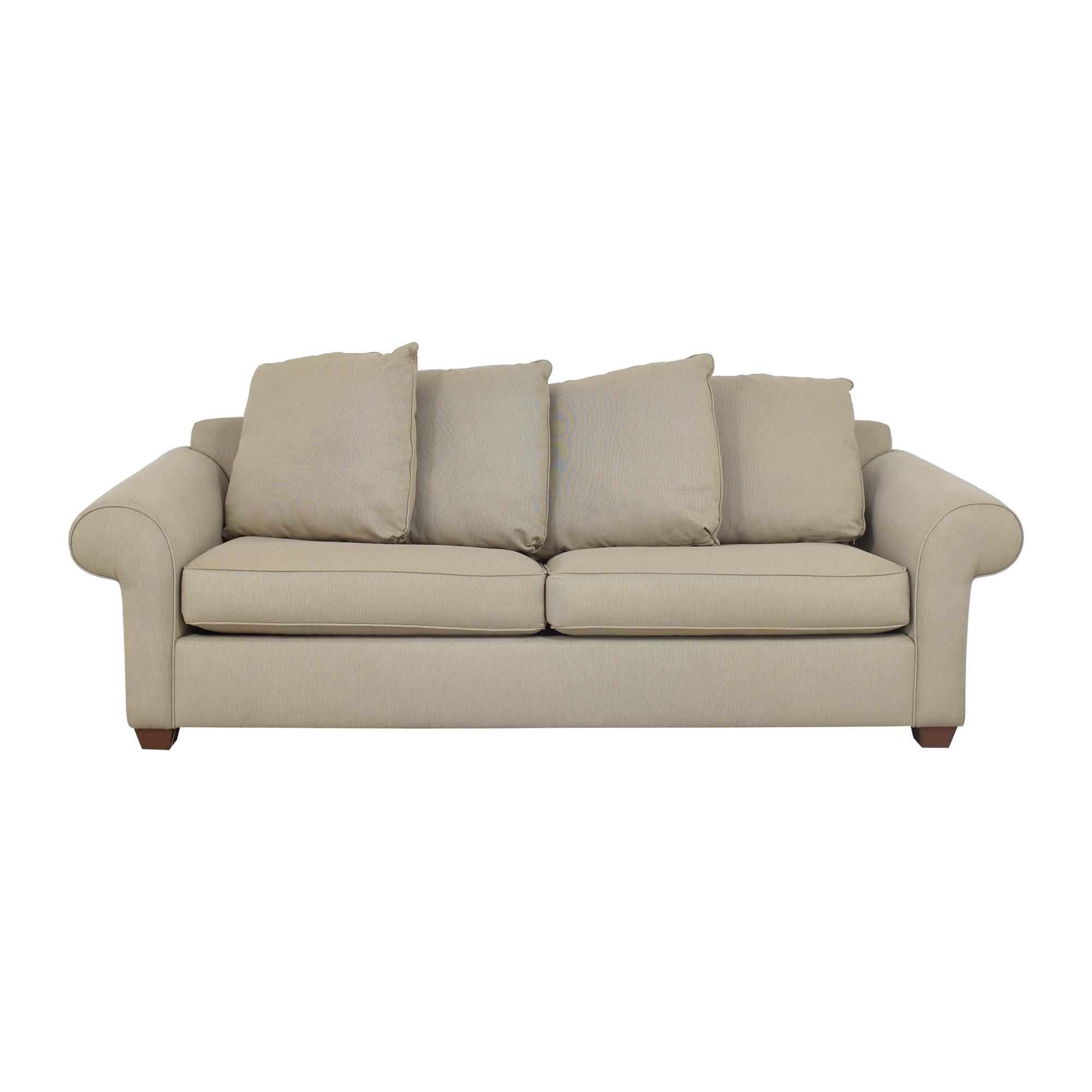 Bauhaus Furniture Bauhaus Roll Arm Sleeper Sofa second hand
