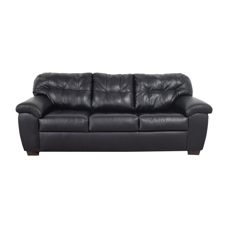 Tufted Sleeper Sofa discount