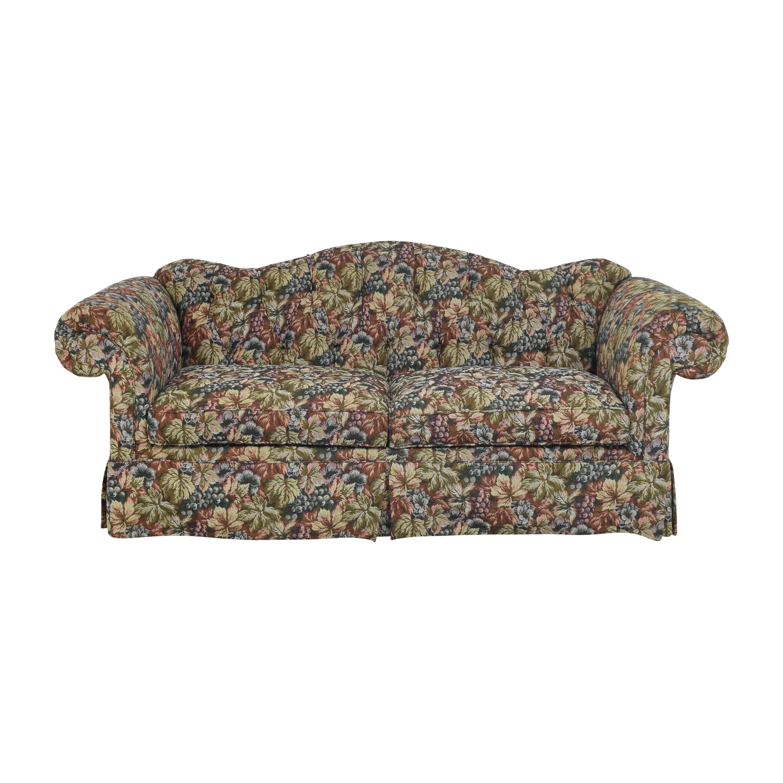 Roll Arm Camelback Sofa Sofas