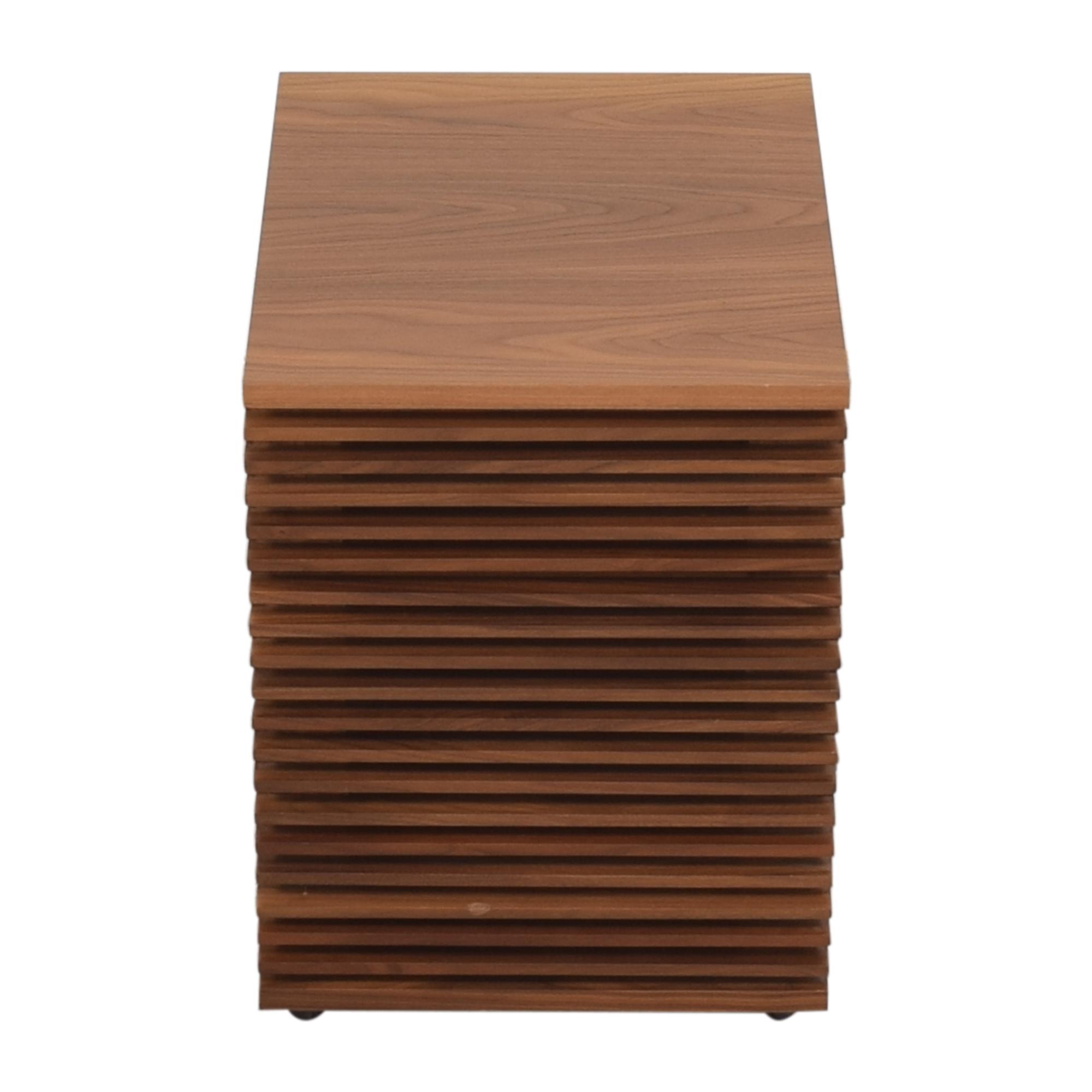 Design Within Reach  Design Within Reach Line File Pedestal Cabinet brown
