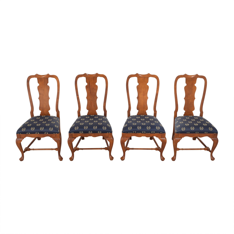 Century Furniture Century Furniture Fiddleback Dining Side Chairs  nj
