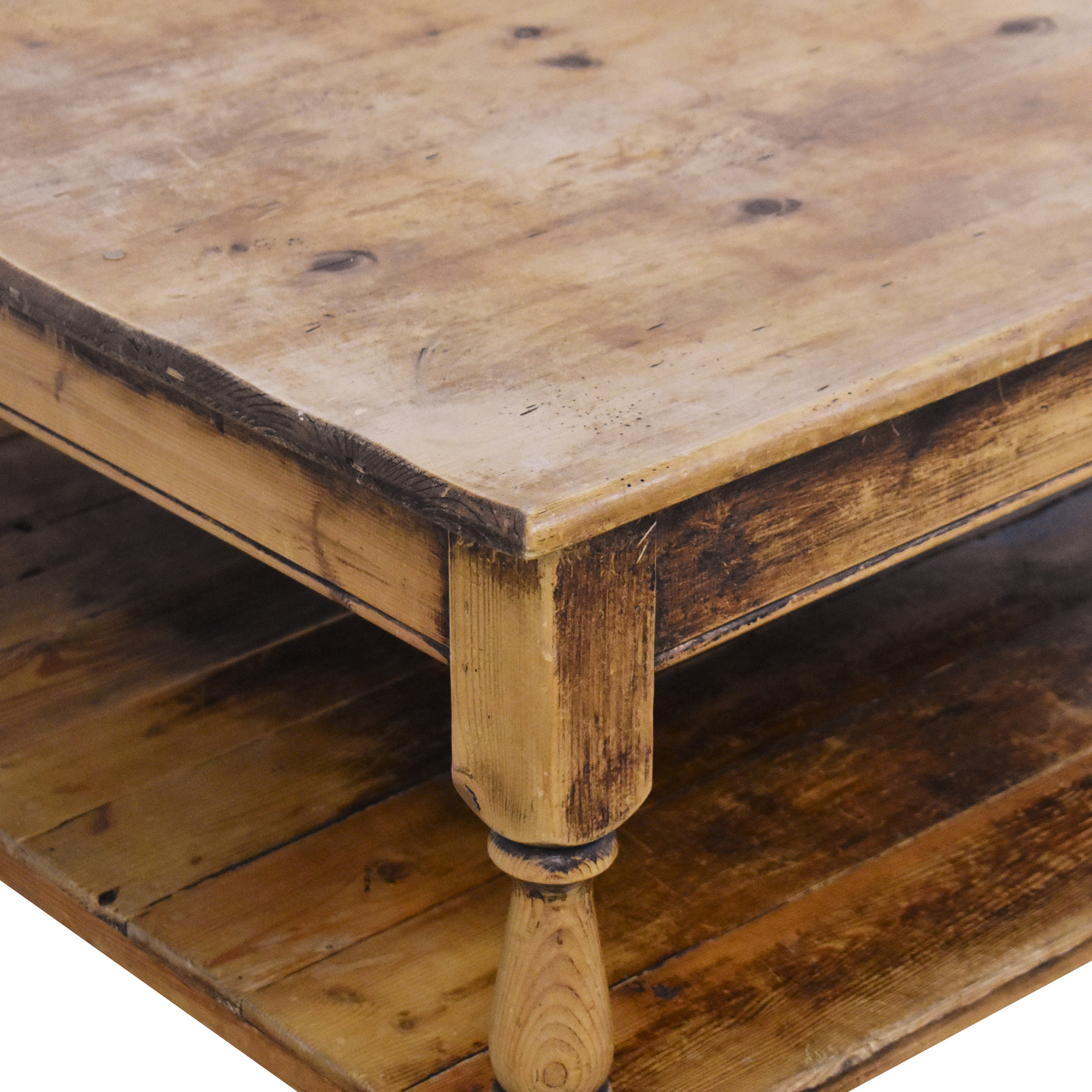 Rustic-Style Coffee Table discount