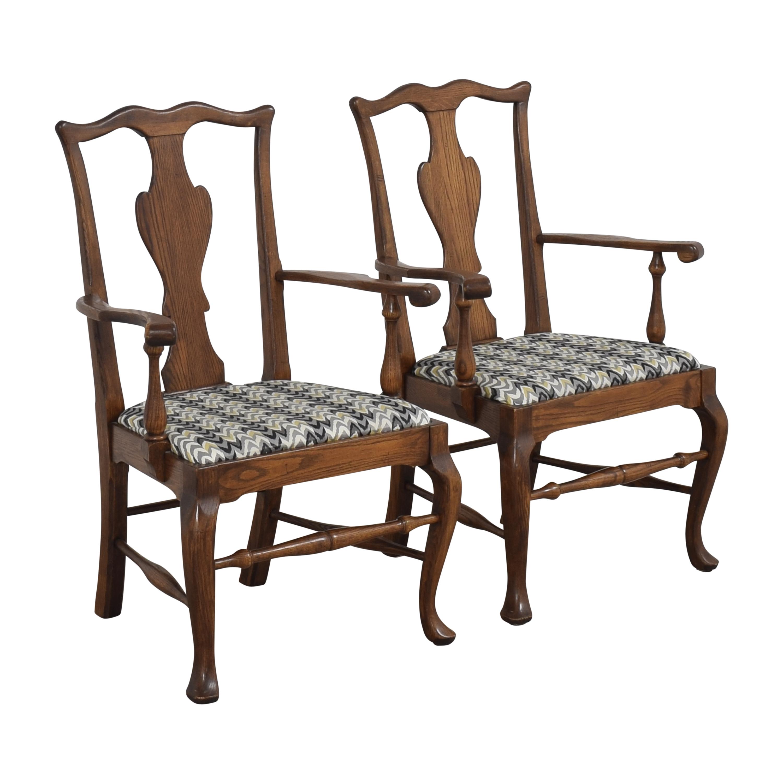 Ethan Allen Ethan Allen Queen Anne Dining Arm Chairs for sale