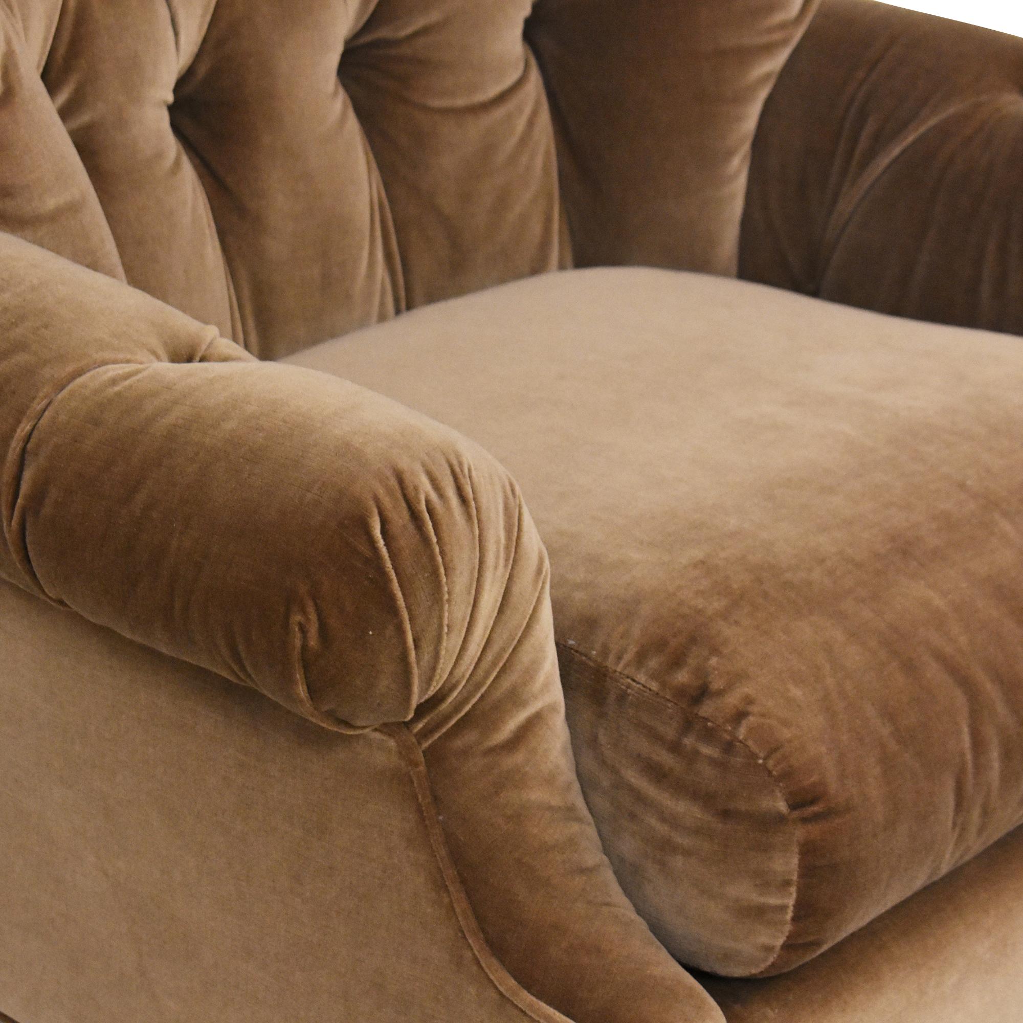 Kravet Kravet Tufted Accent Chair ct