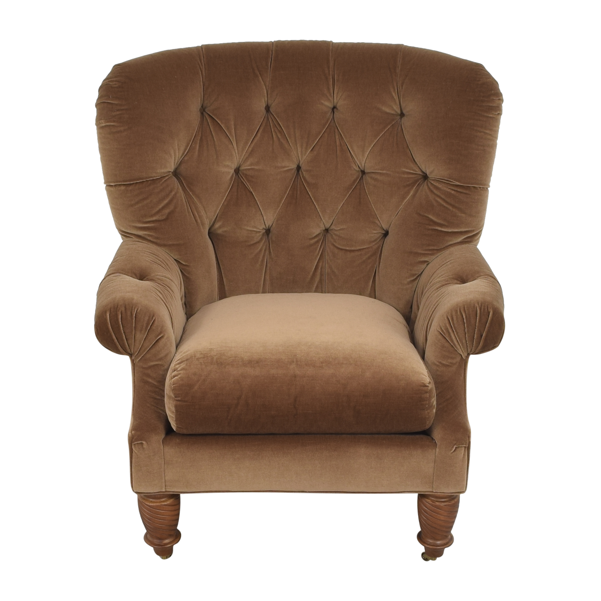 Kravet Tufted Accent Chair sale