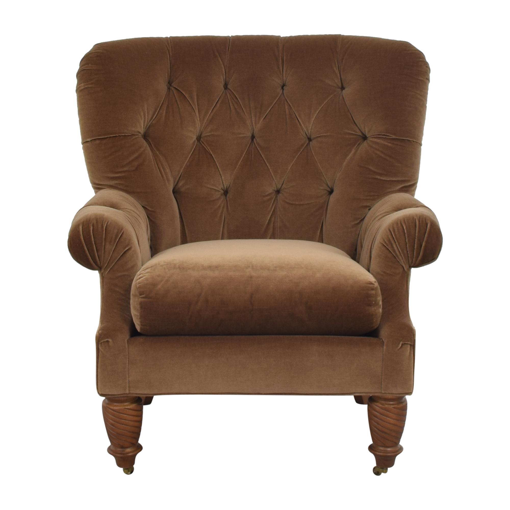 Kravet Kravet Tufted Accent Chair pa