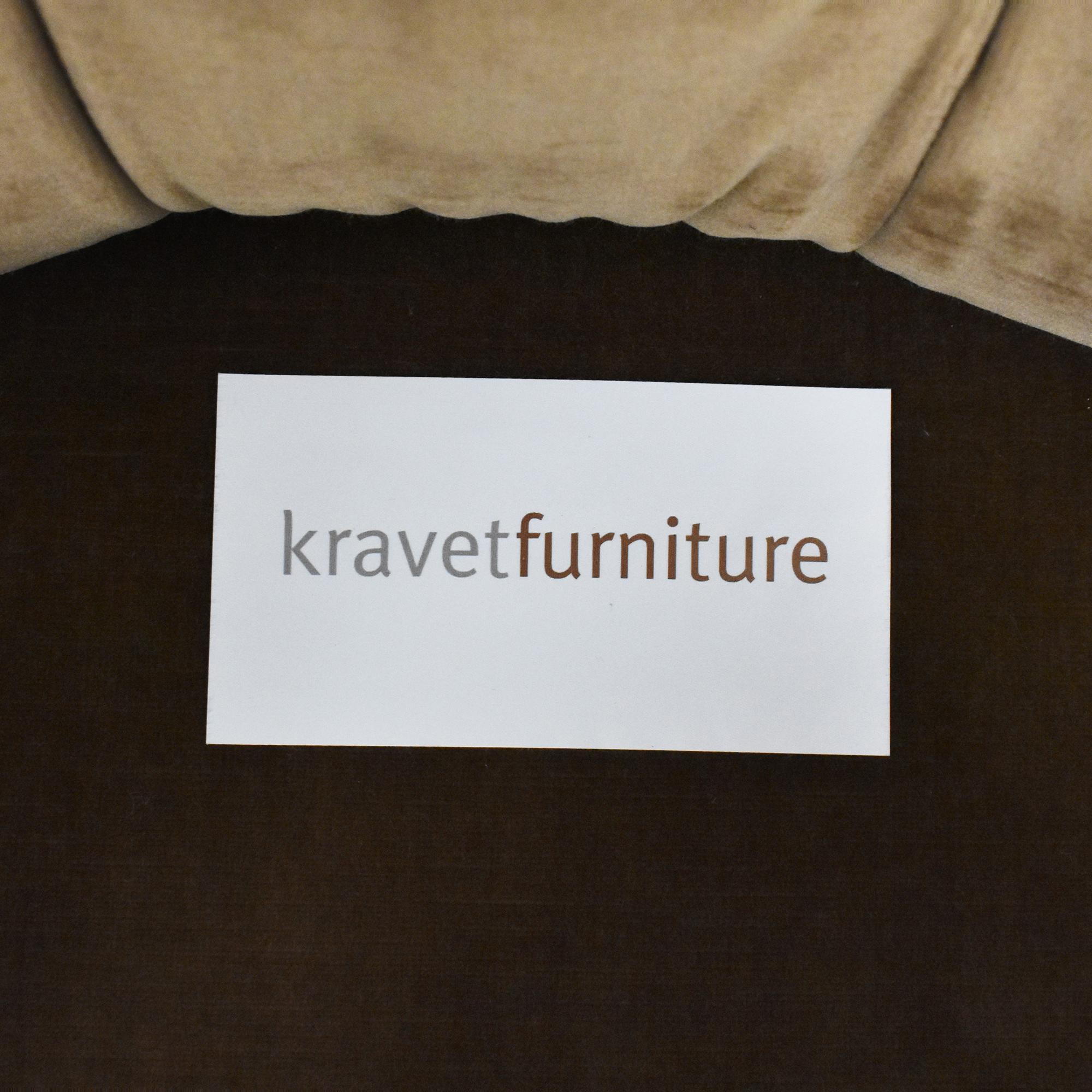 Kravet Tufted Accent Chair Kravet