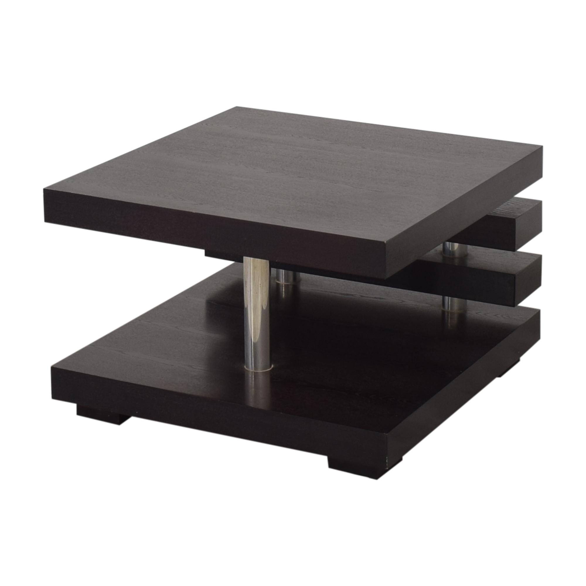 Contemporary Square Coffee Table