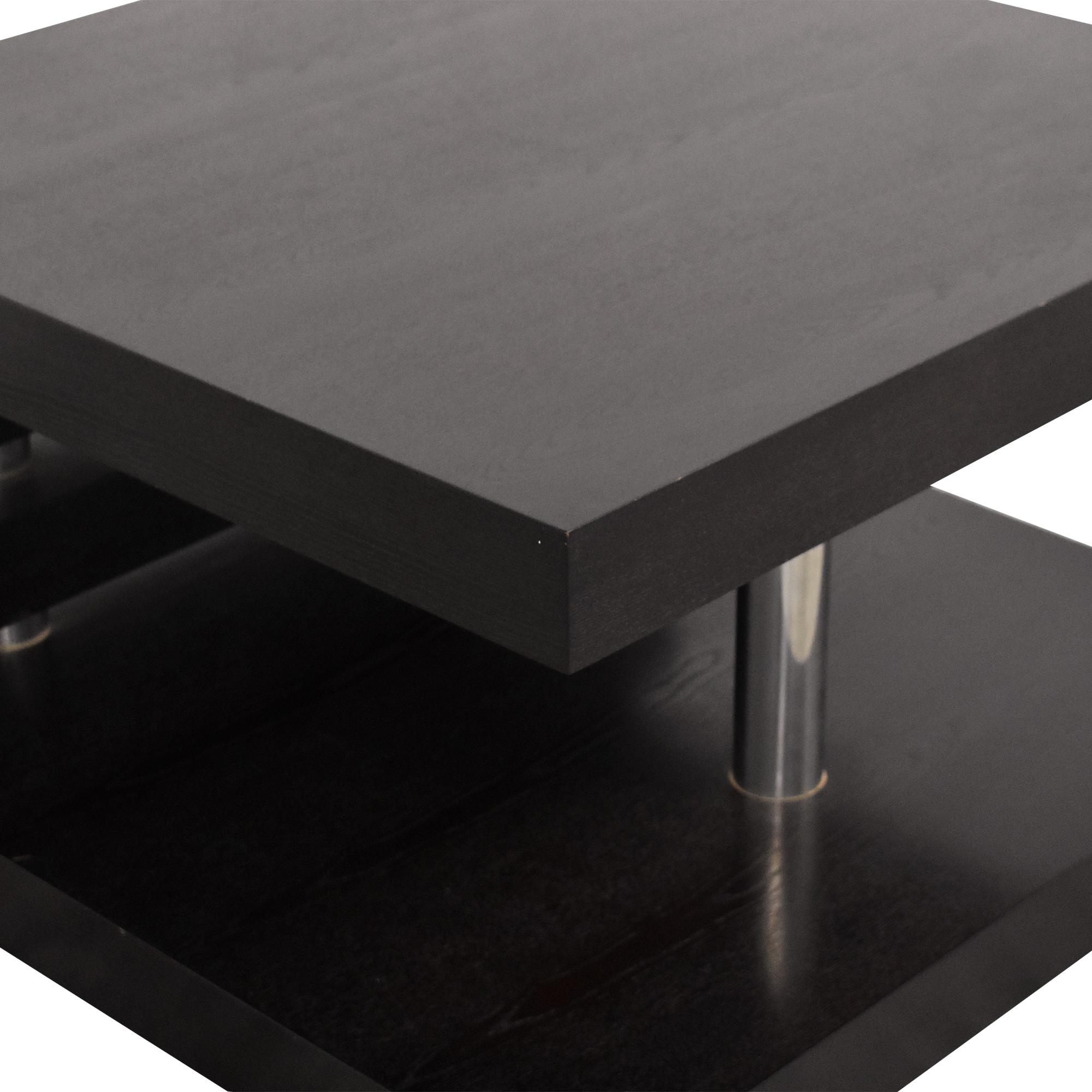 Contemporary Square Coffee Table nj