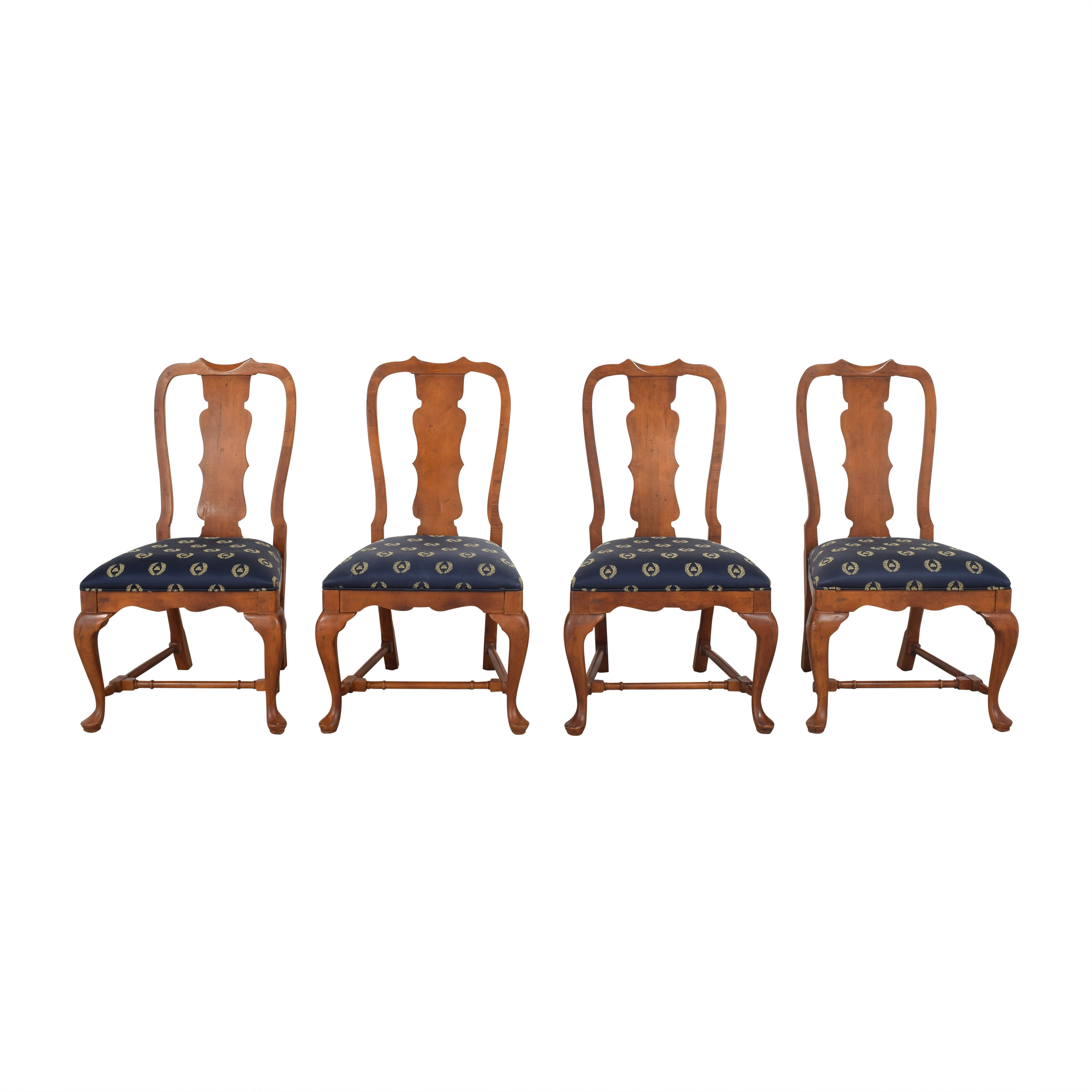 Century Furniture Century Furniture Fiddleback Dining Side Chairs  discount
