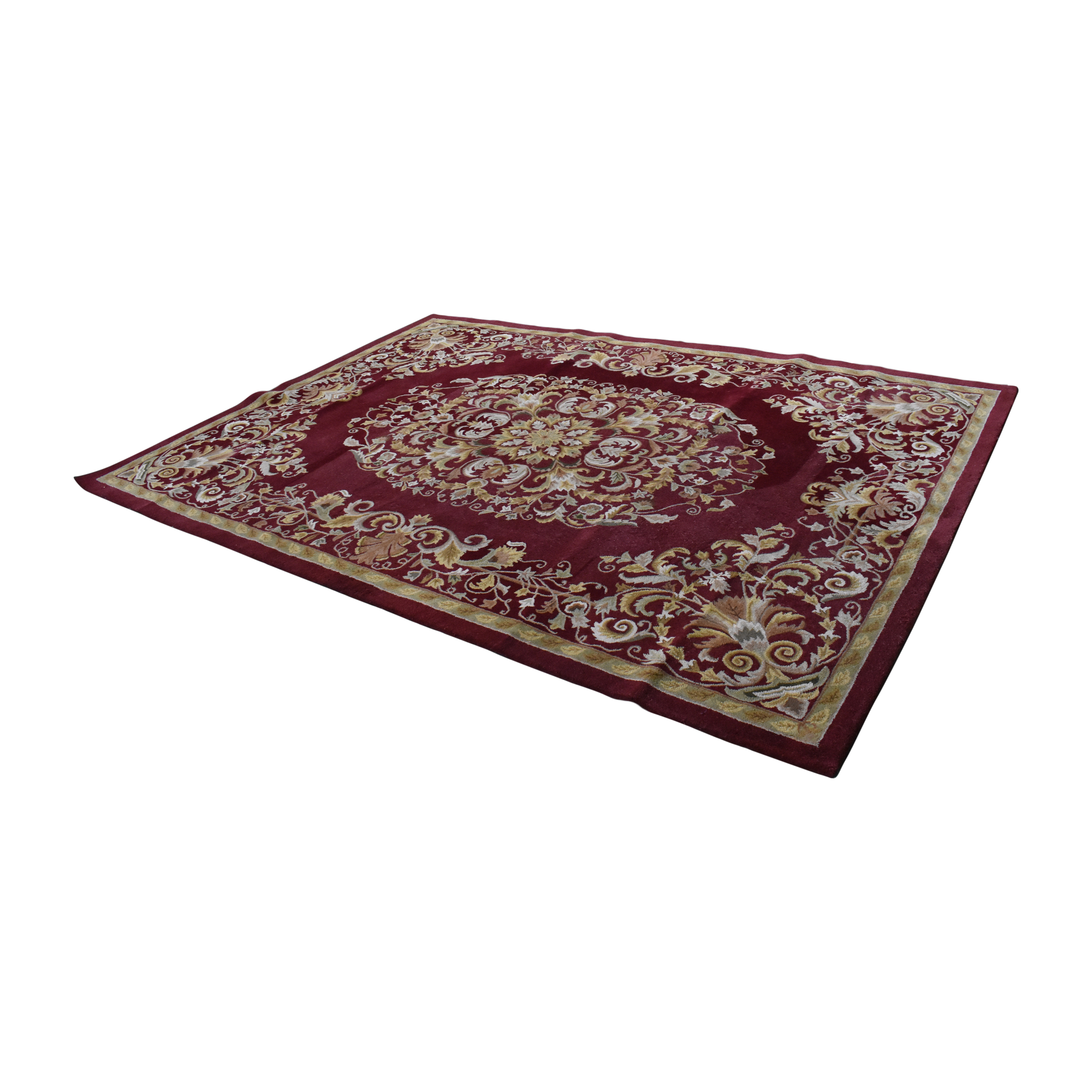 Safavieh Safavieh Heritage Collection Rug Red and gold