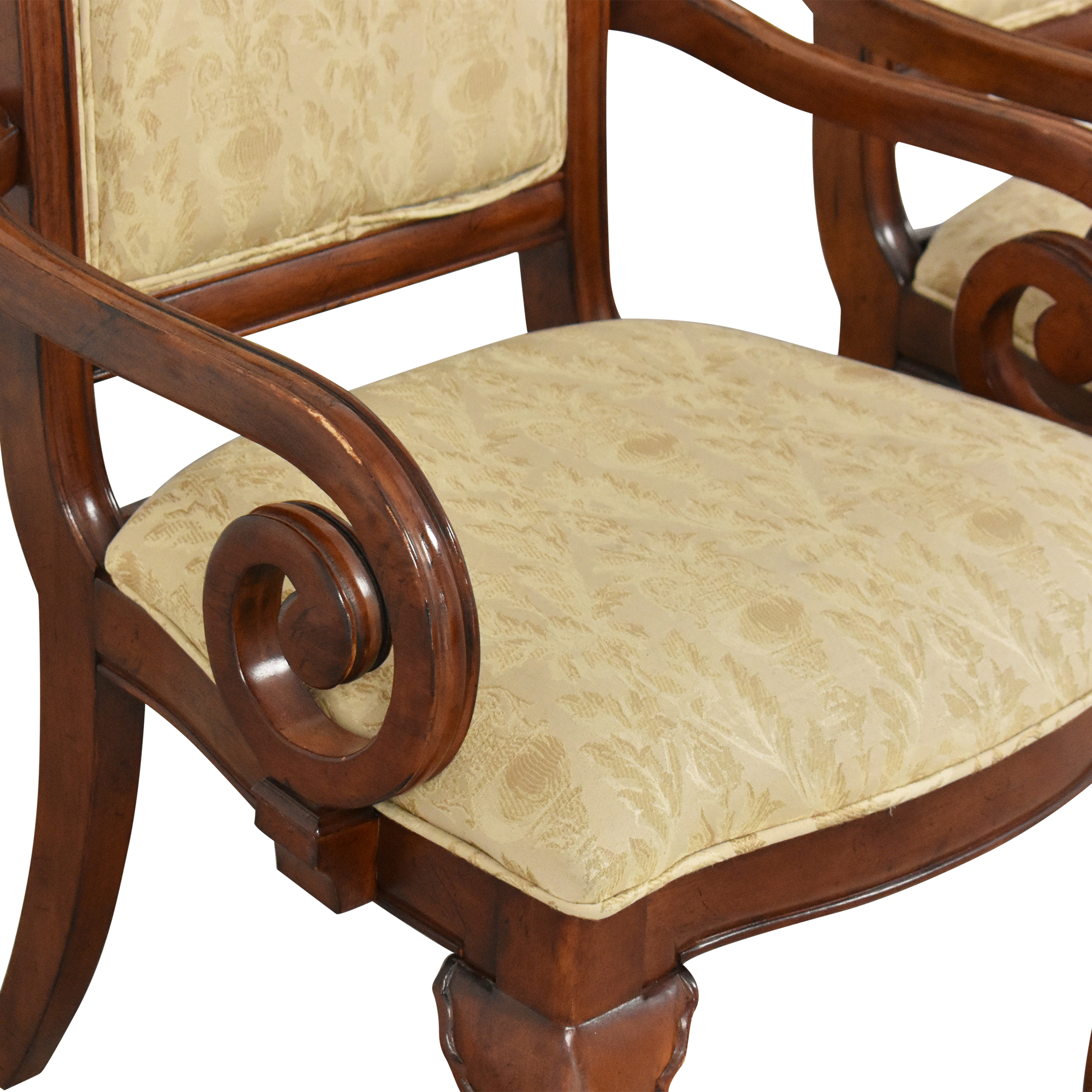 Thomasville Thomasville Dining Arm Chairs coupon