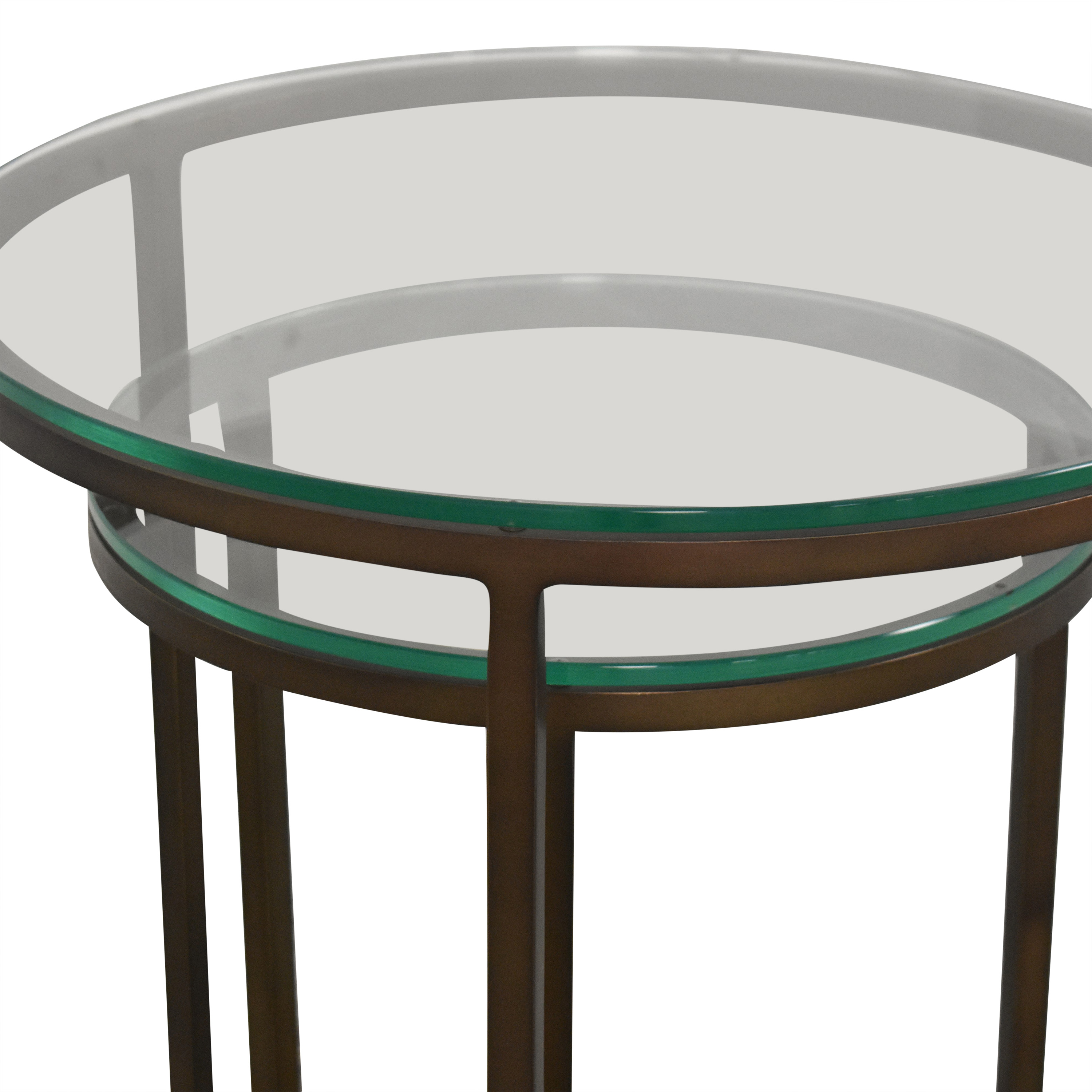 Mitchell Gold + Bob Williams Bassey Nesting Accent Tables / Tables