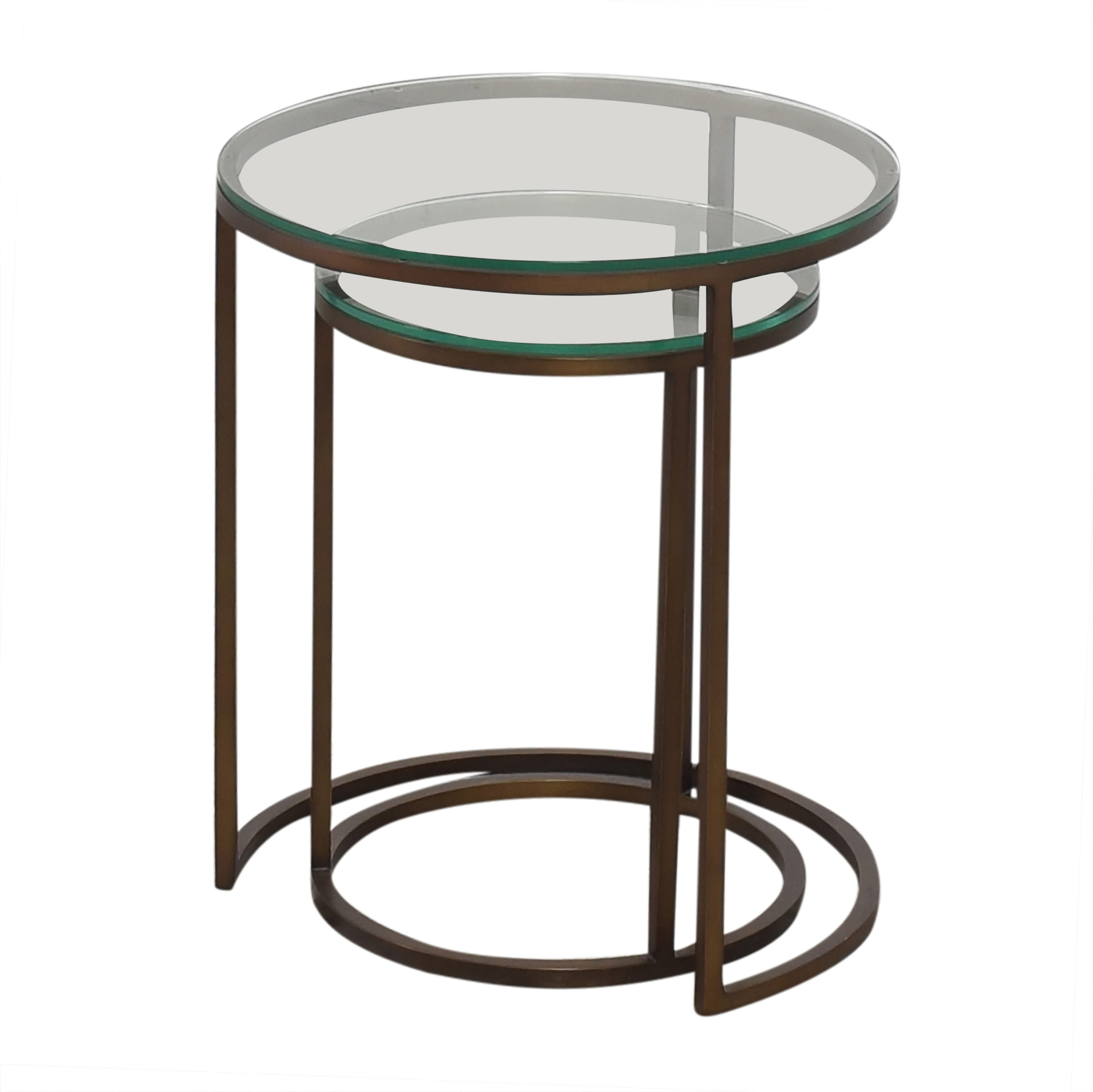 Mitchell Gold + Bob Williams Mitchell Gold + Bob Williams Bassey Nesting Accent Tables second hand