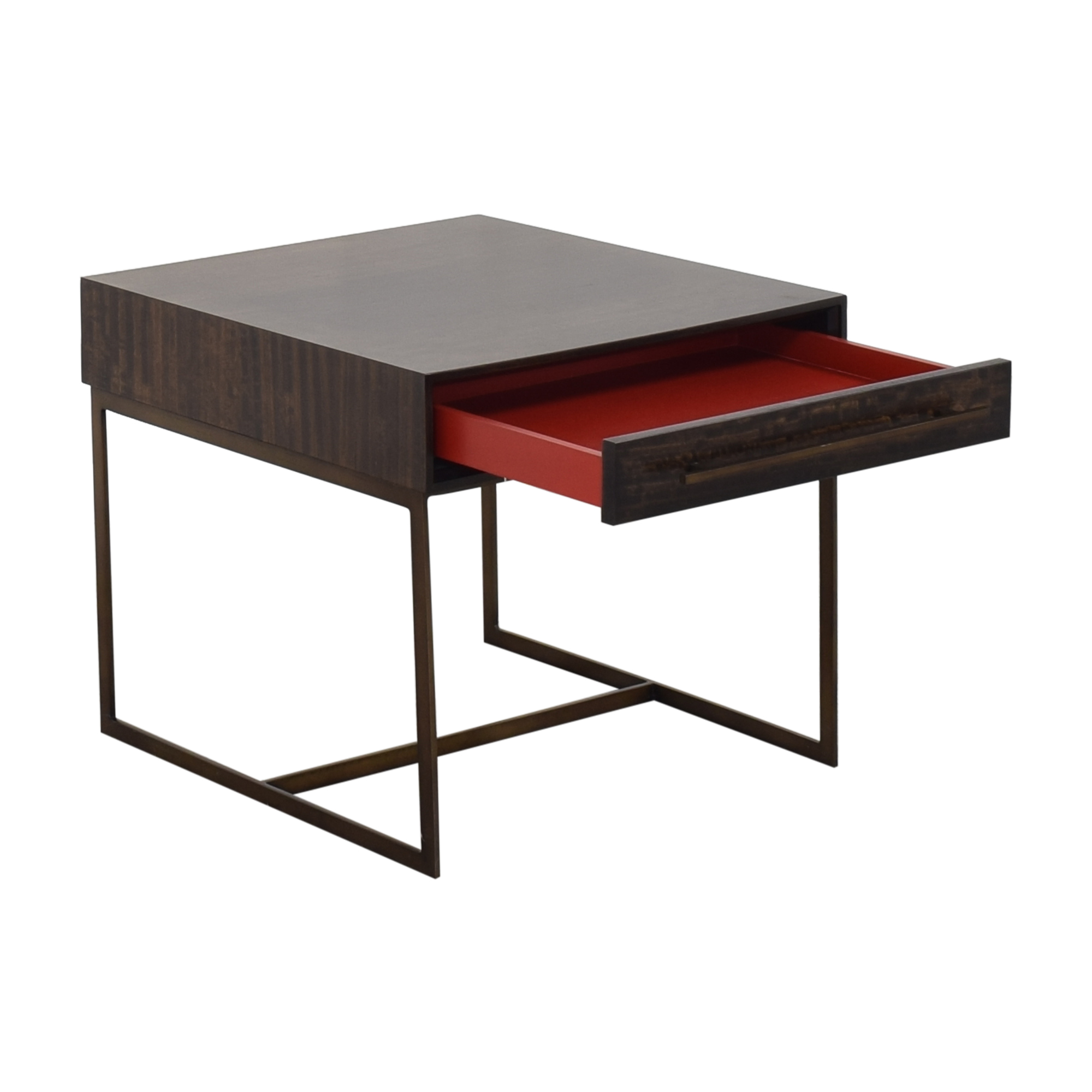 Mitchell Gold + Bob Williams Mitchell Gold + Bob Williams Allure Drawer Side Table second hand
