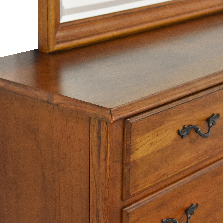 Thomasville Thomasville Impressions Triple Dresser with Mirror used