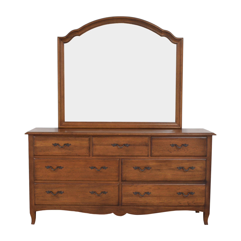buy Thomasville Thomasville Impressions Triple Dresser with Mirror online