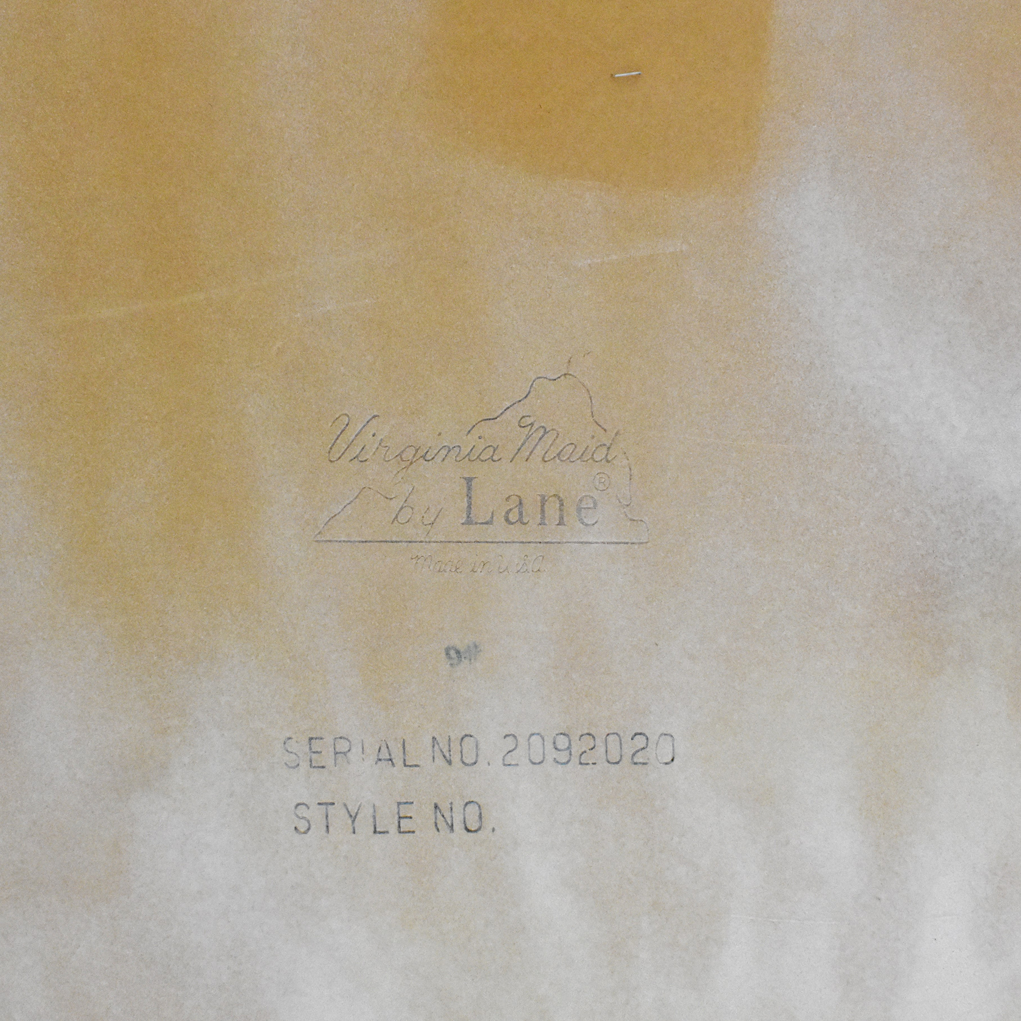 Lane Furniture Virginia Maid Coffee Table sale