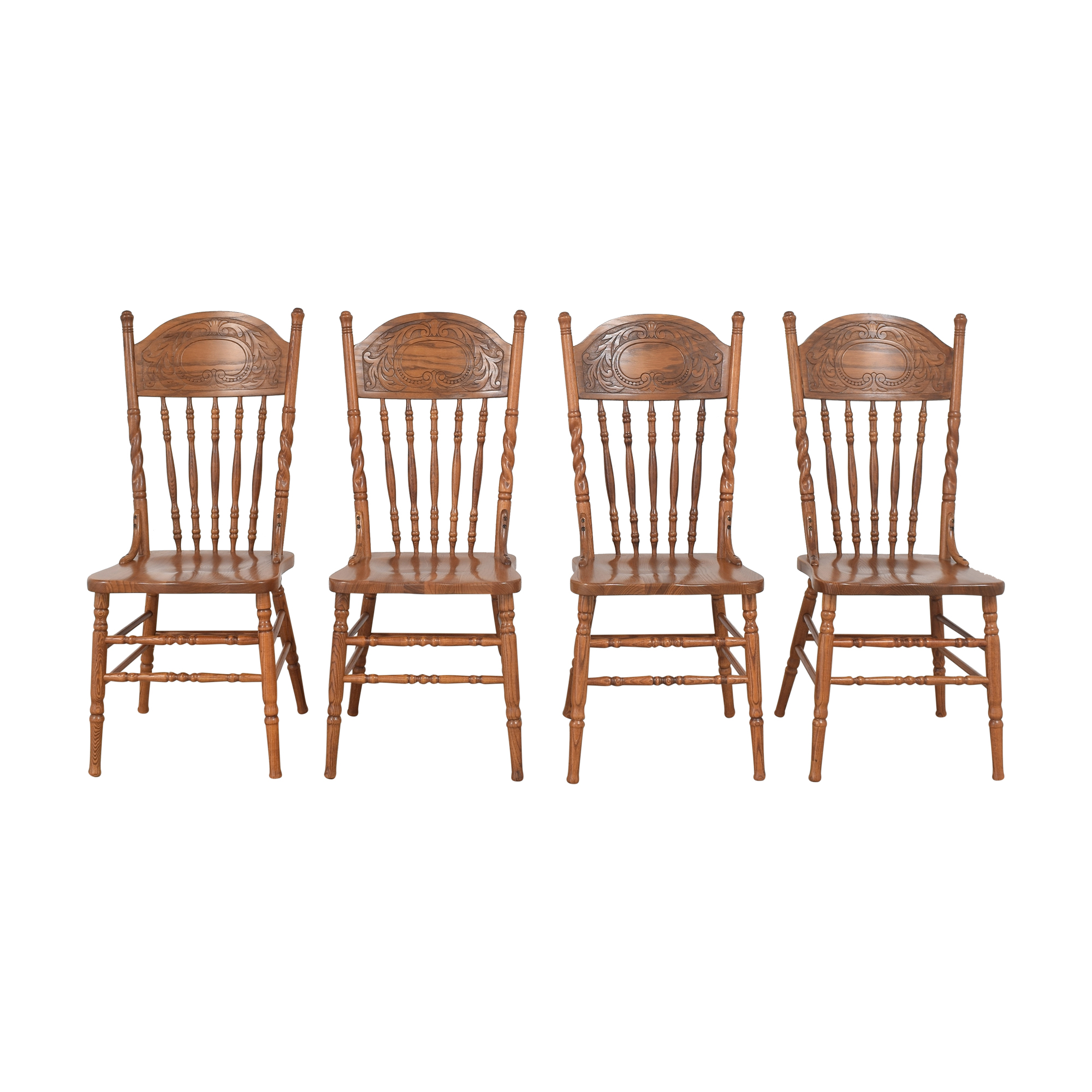 Press Back Dining Side Chairs