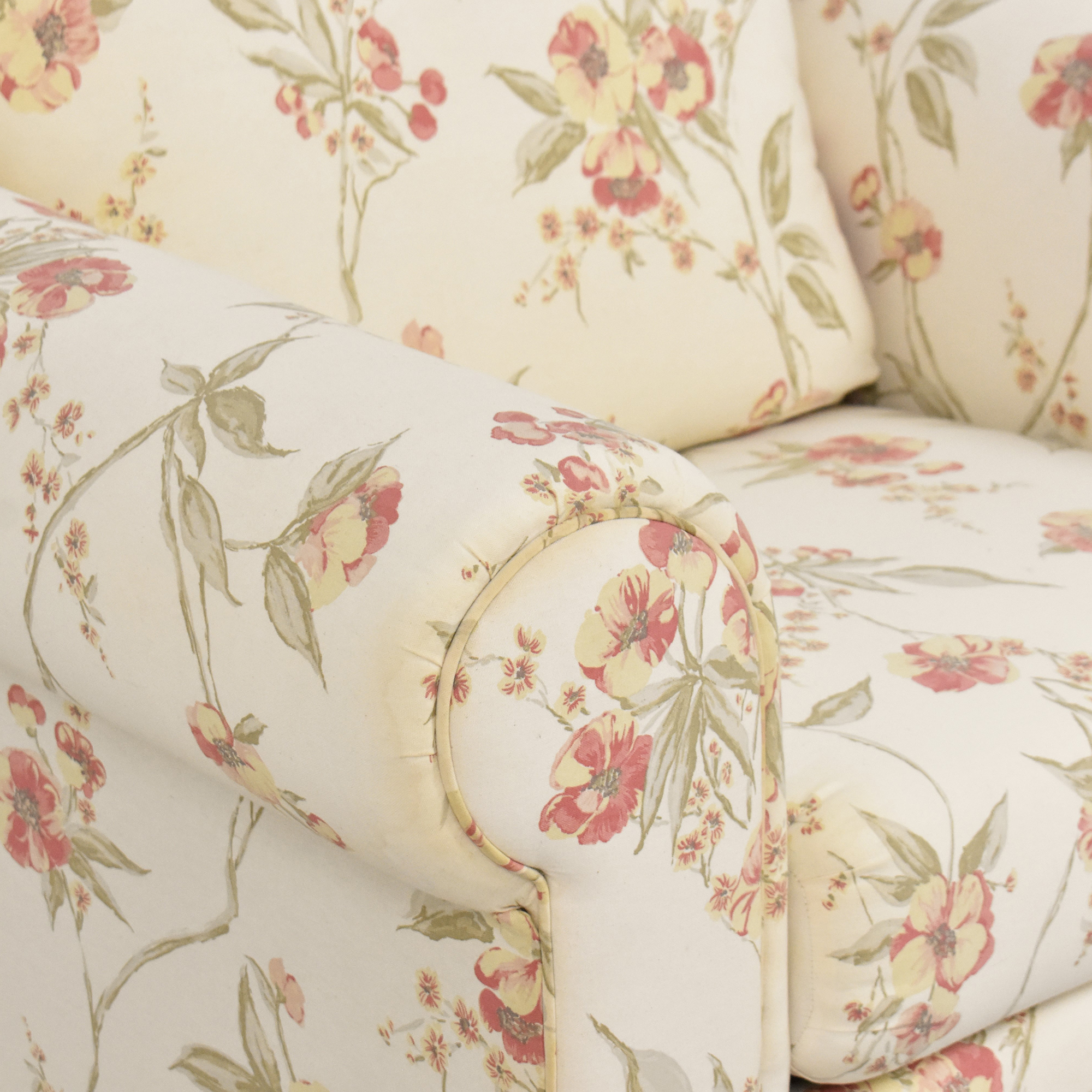 Ellis Home Furnishings Ellis Home Furnishings Floral Accent Chair for sale