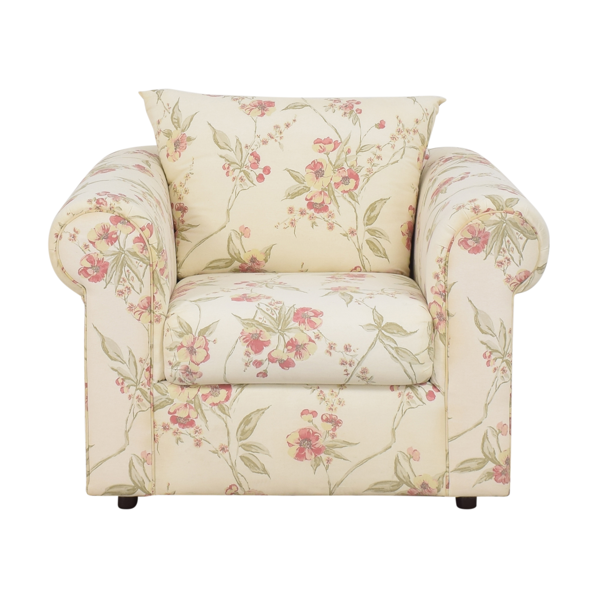 Ellis Home Furnishings Ellis Home Furnishings Floral Accent Chair on sale