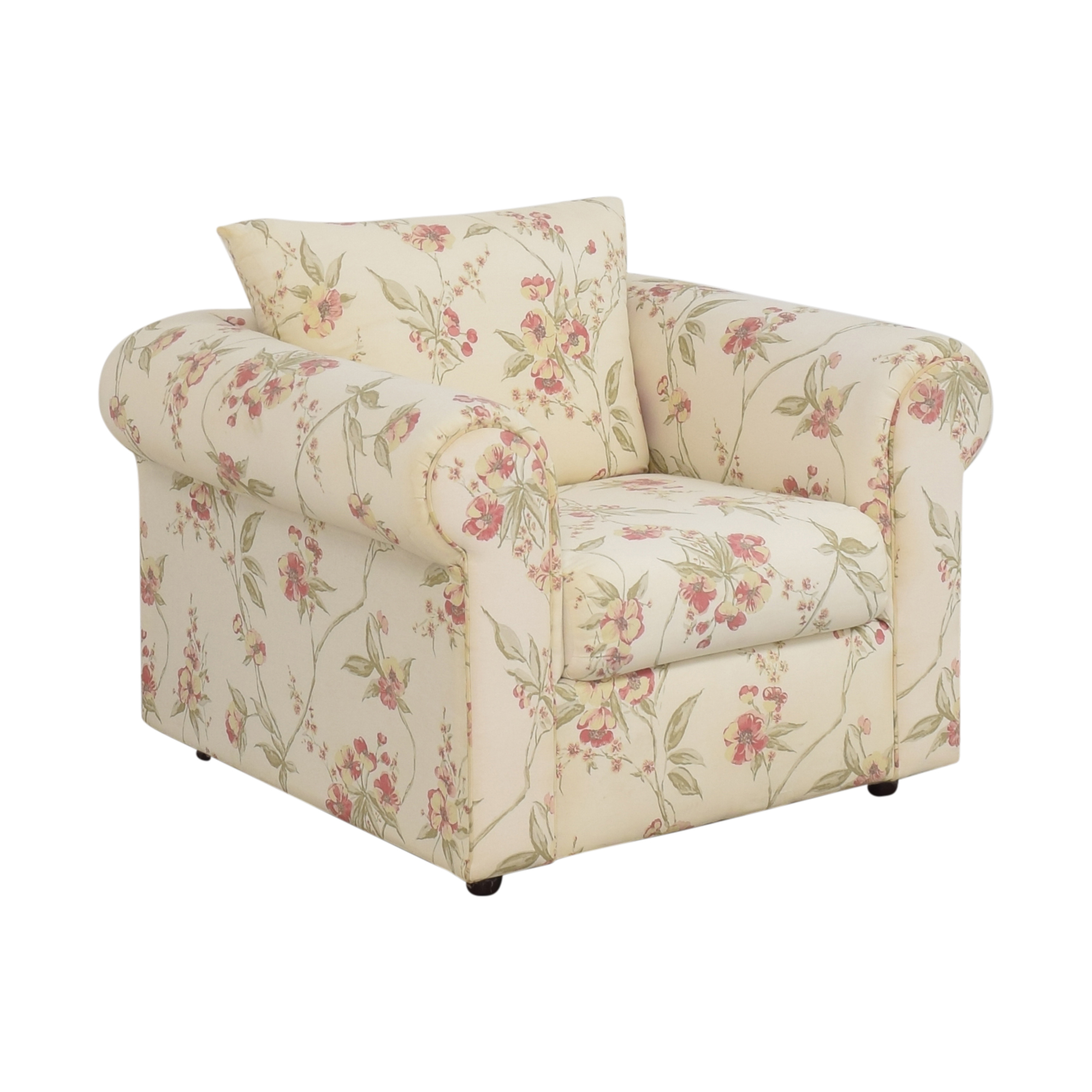 Ellis Home Furnishings Floral Accent Chair / Accent Chairs