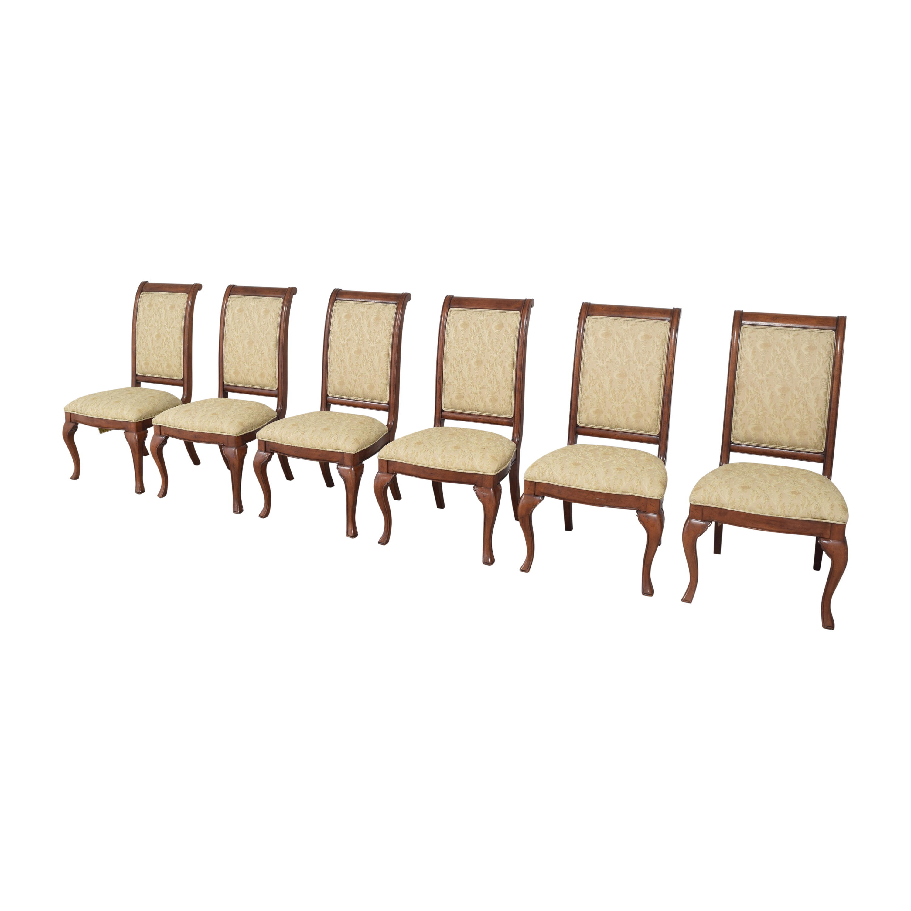 Thomasville Upholstered Dining Chairs  Thomasville