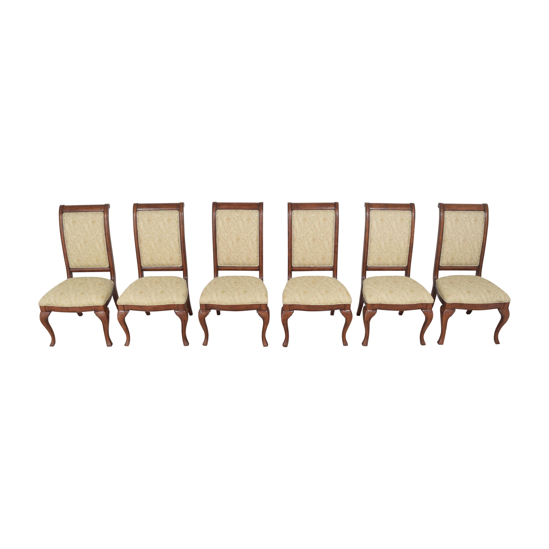 Thomasville Thomasville Upholstered Dining Chairs  nj