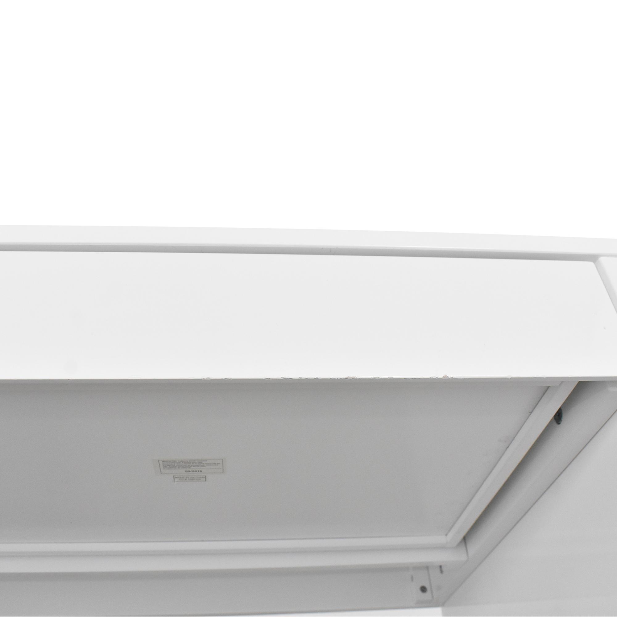 CB2 CB2 Runway Desk dimensions