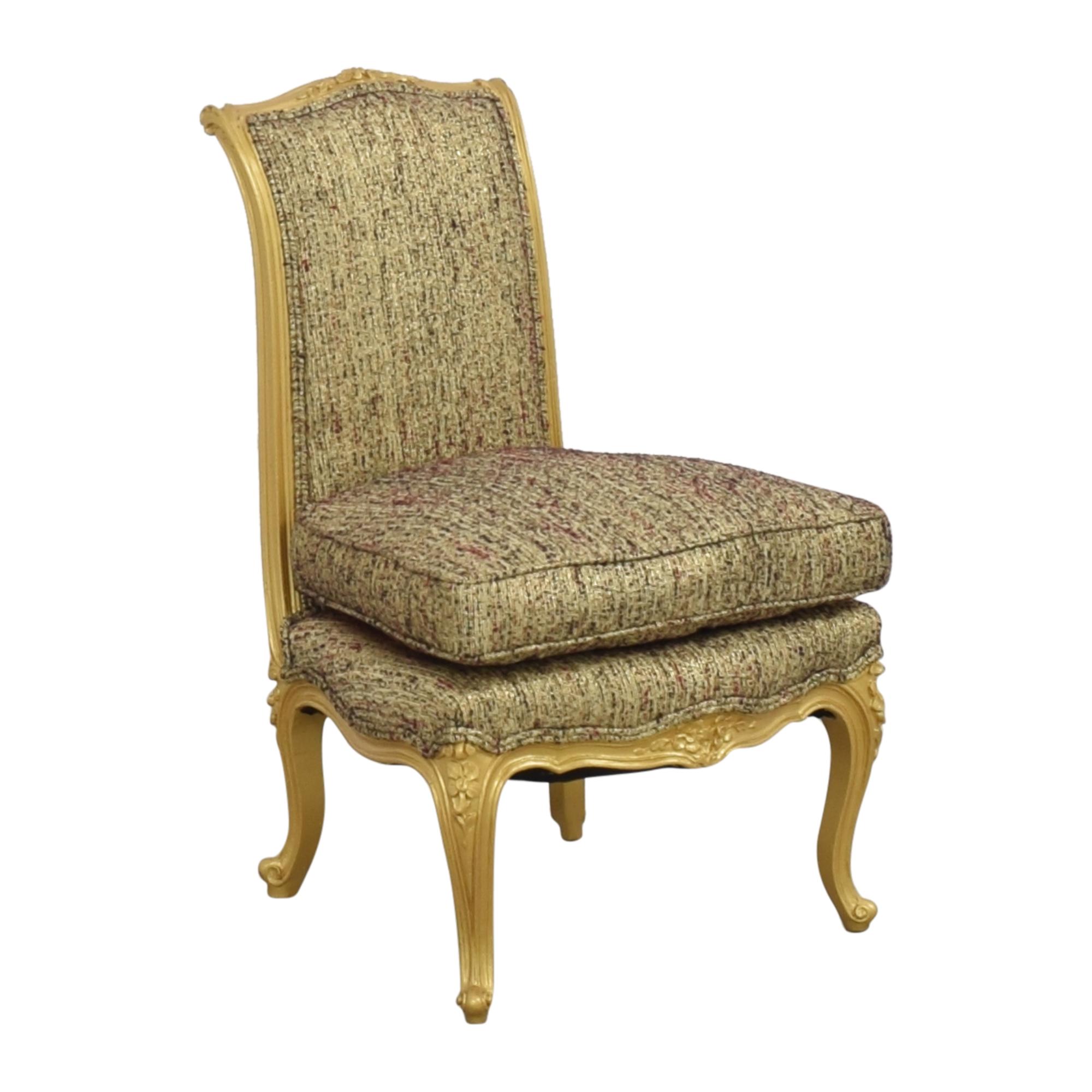 Custom Anna Sui Slipper Chair  Accent Chairs