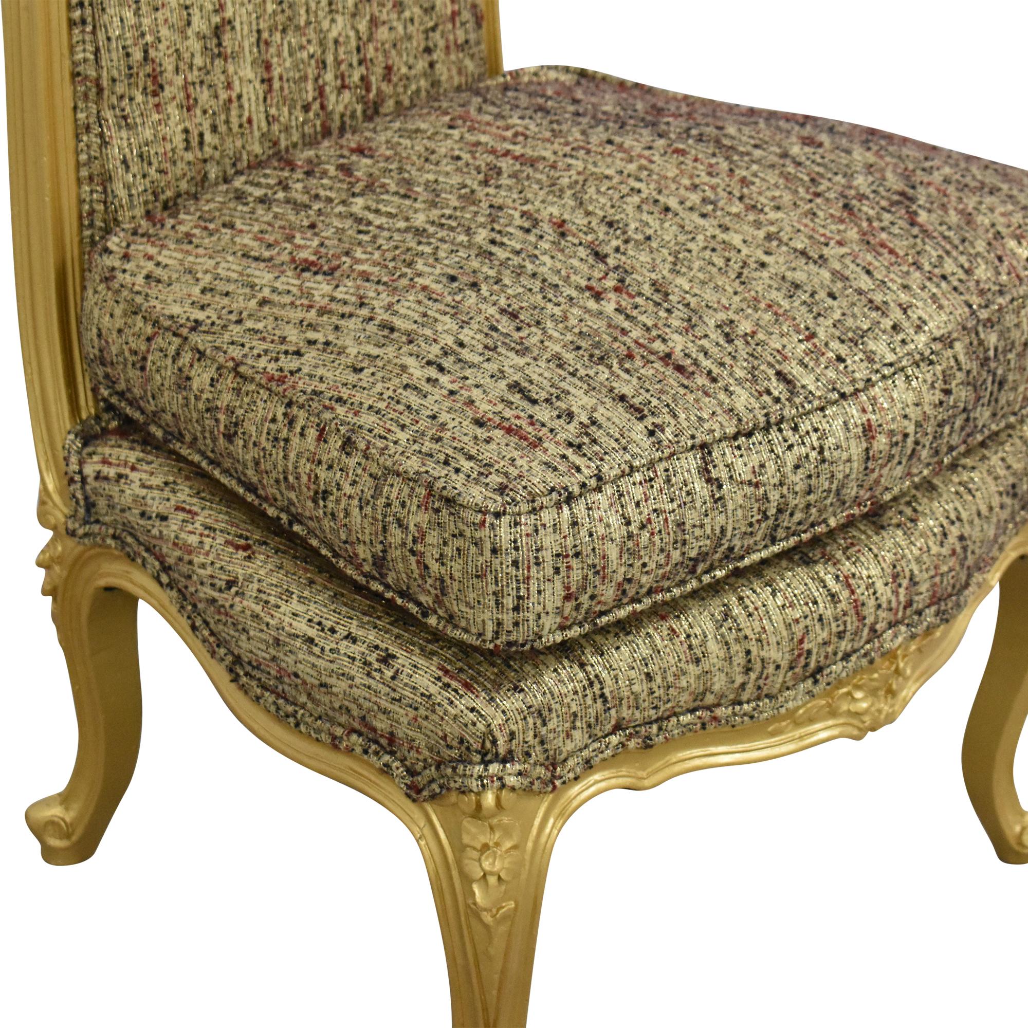 Custom Anna Sui Slipper Chair  second hand