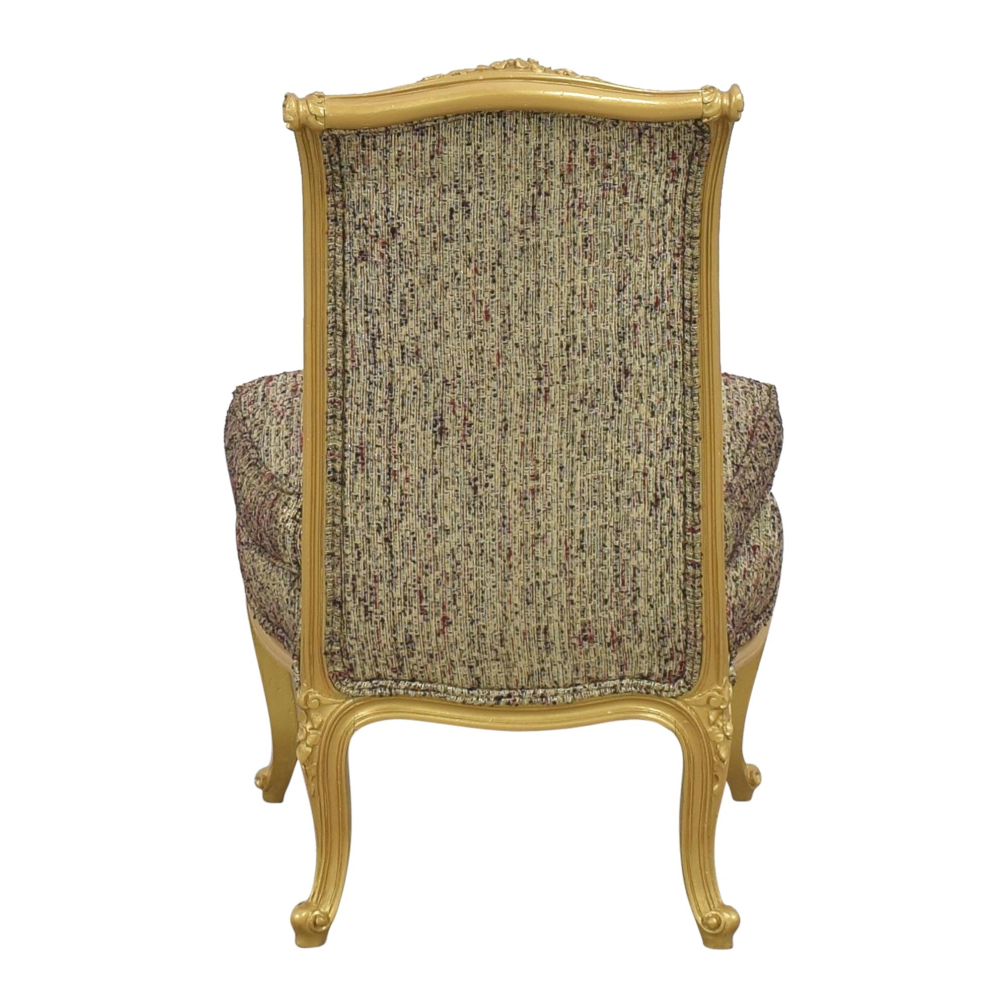 Custom Anna Sui Slipper Chair  dimensions