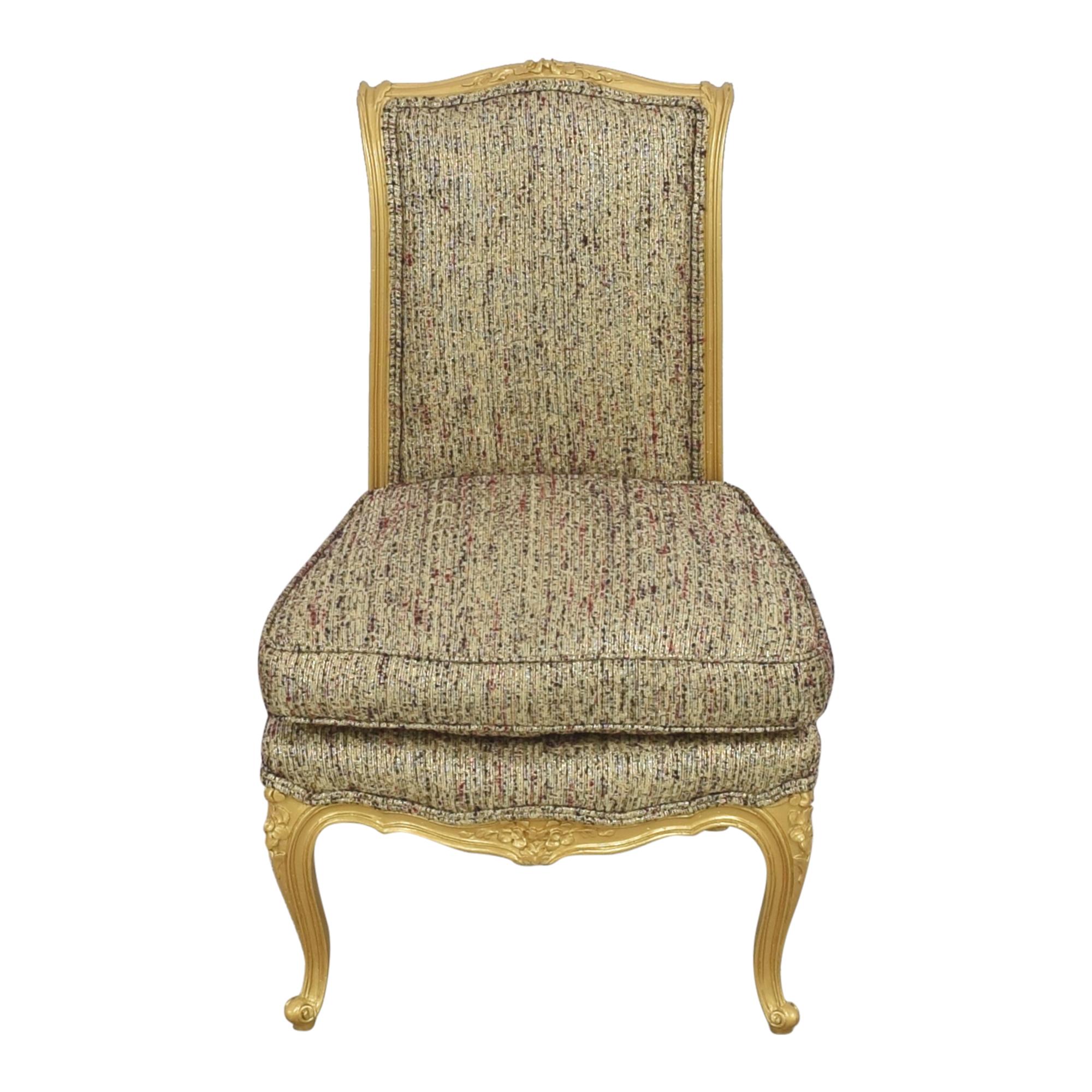 Custom Anna Sui Slipper Chair  pa