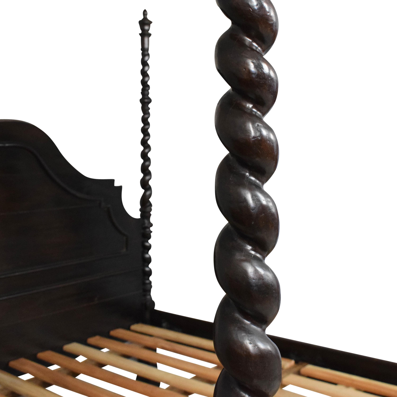 buy Brazil Baroque Imperial California King Bed Brazil Baroque