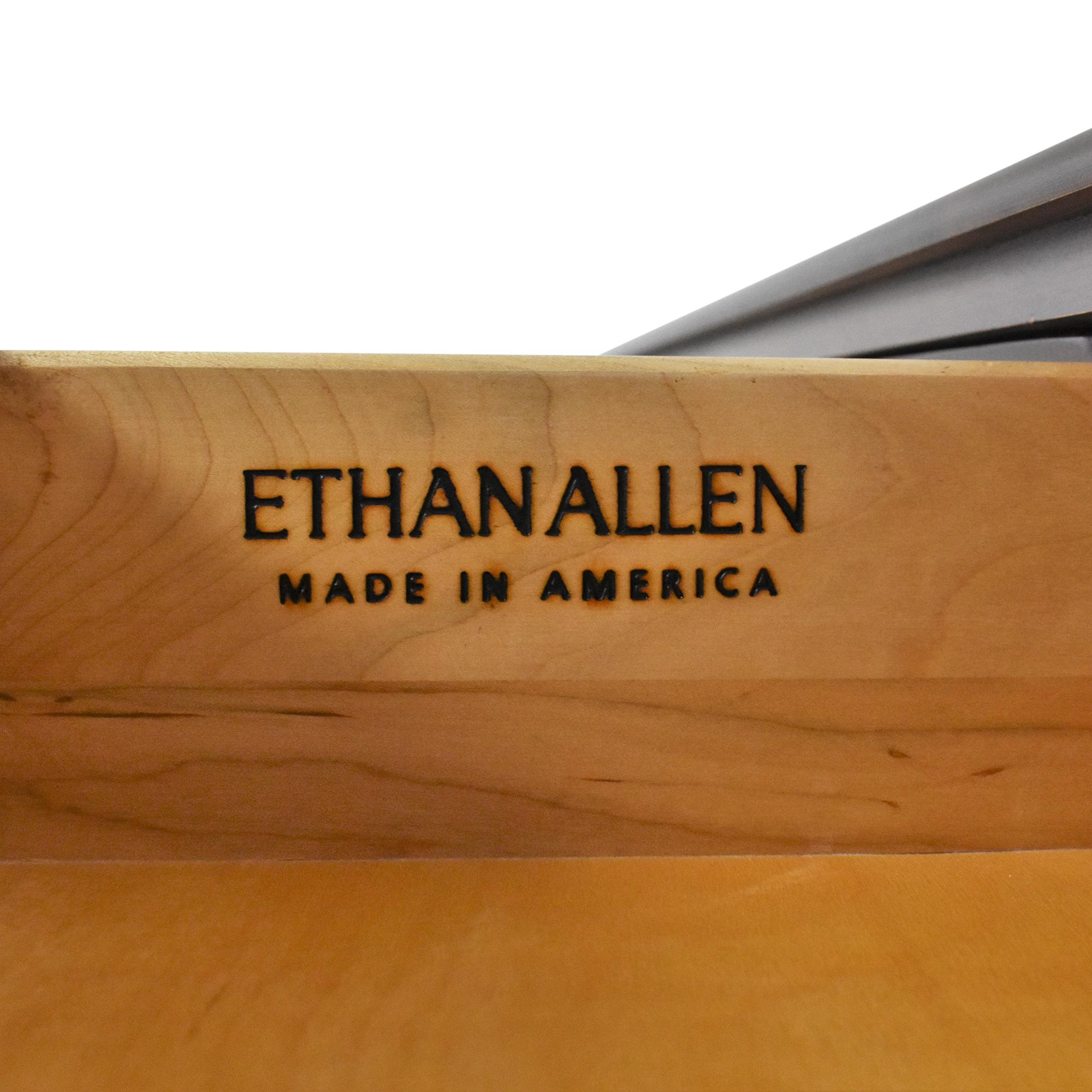 shop Ethan Allen British Classics Cinnabar Sideboard Ethan Allen Storage