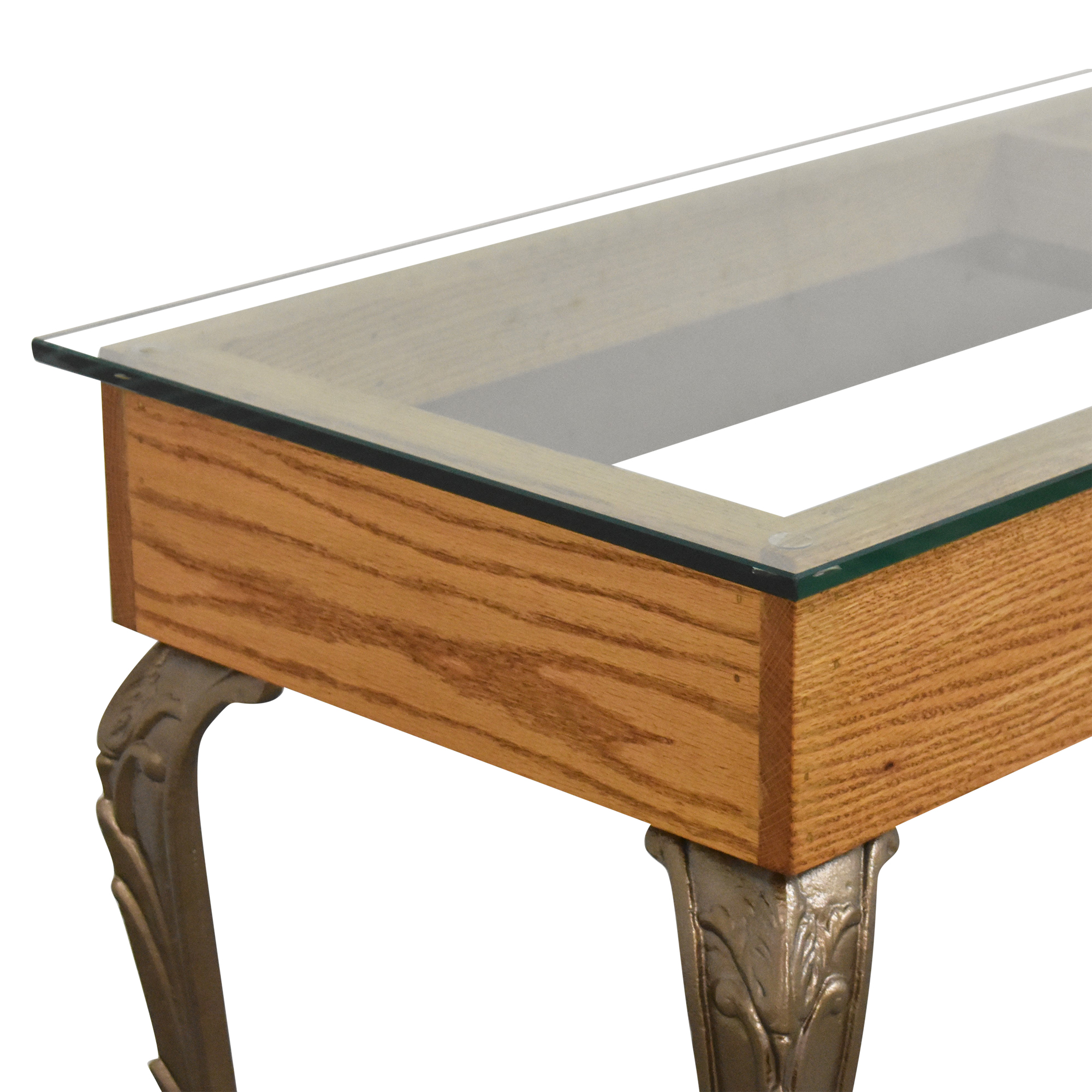 shop Mixed Media Console Table  Accent Tables