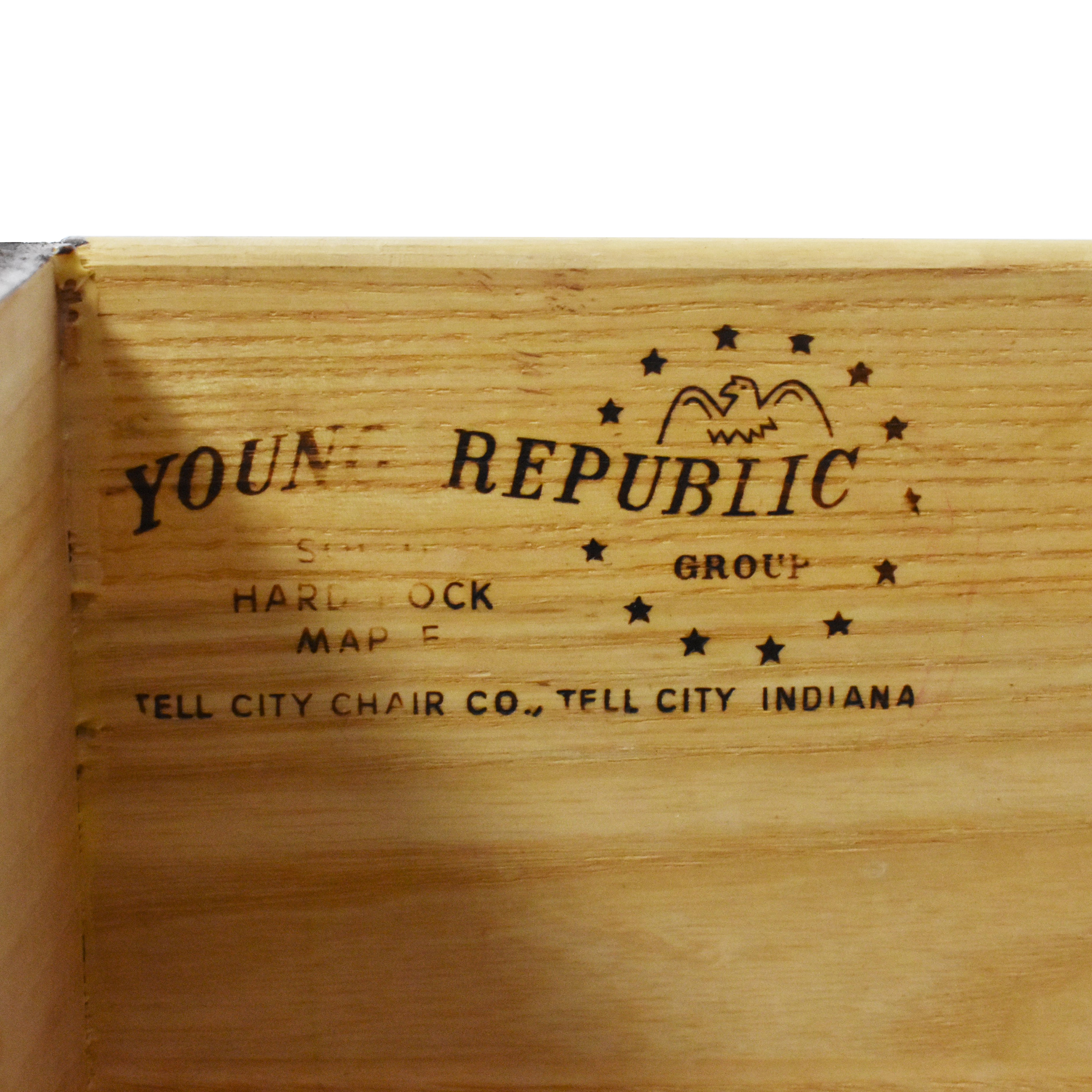shop Tell City Young Republic Nightstands Tell City End Tables