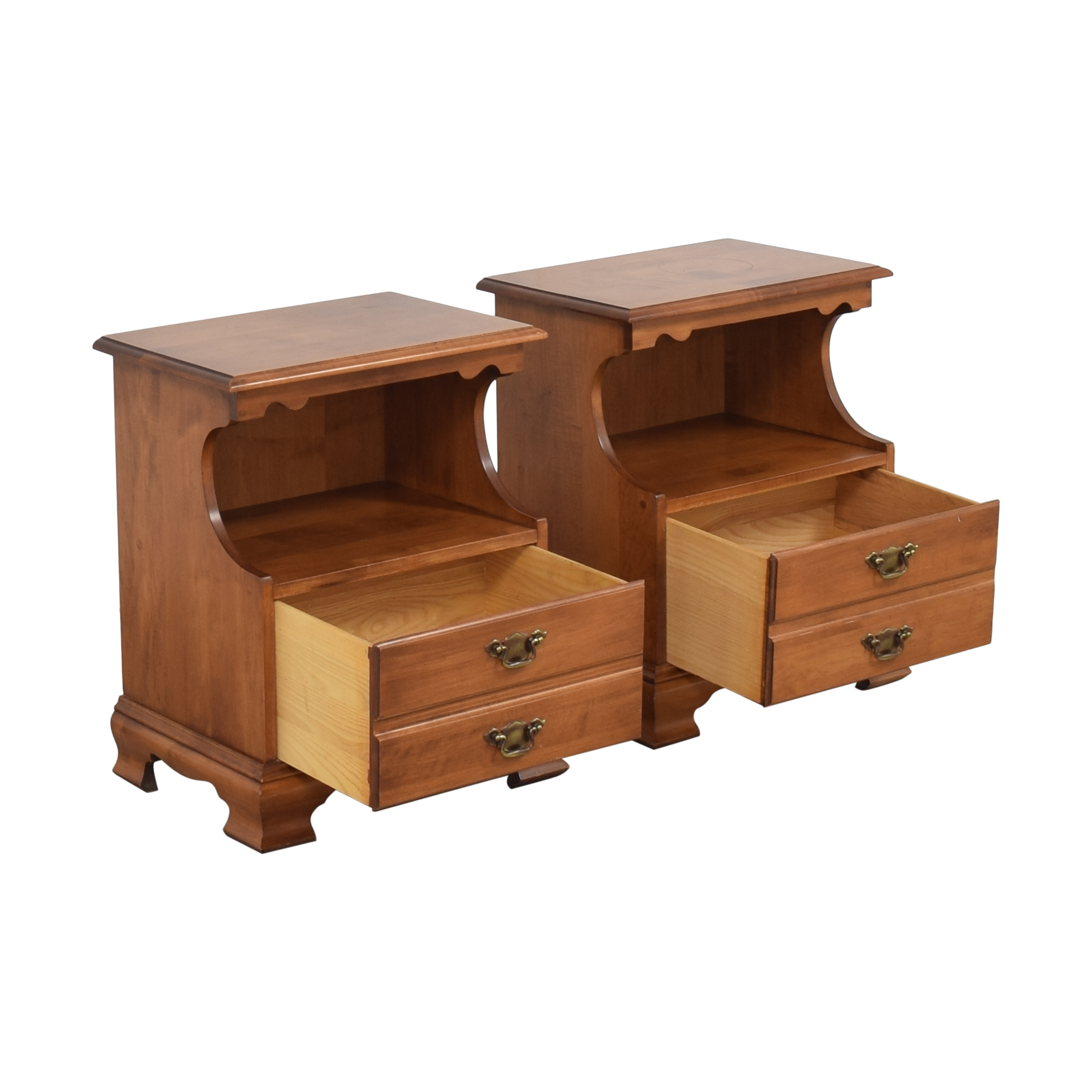 Tell City Young Republic Nightstands / End Tables